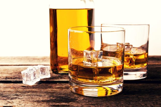 Picture of whisky glasses