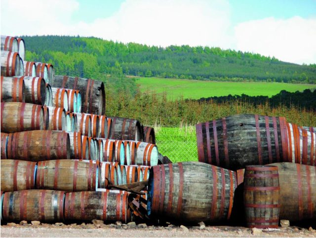 Whisky barrels (A Field Guide to Whisky/PA)