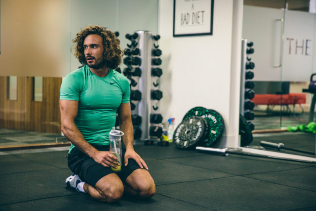 Joe Wicks gets his gym on (Conor McDonnell/PA)