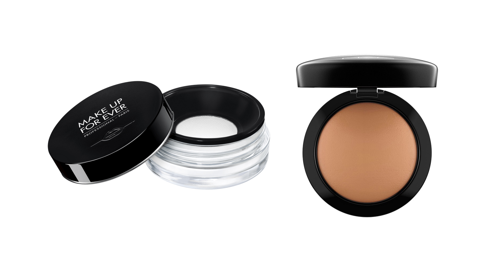 Make Up For Ever Ultra HD Loose Powder and Debenhams MAC Mineralize Skinfinish