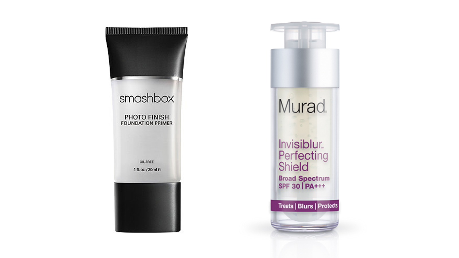 Smashbox Photo Finish Foundation Primer and Murad Invisiblur Perfecting Shield