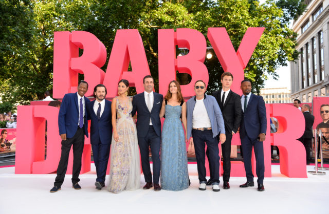 Stars come out for European premiere of Edgar Wright's 'Baby Driver'