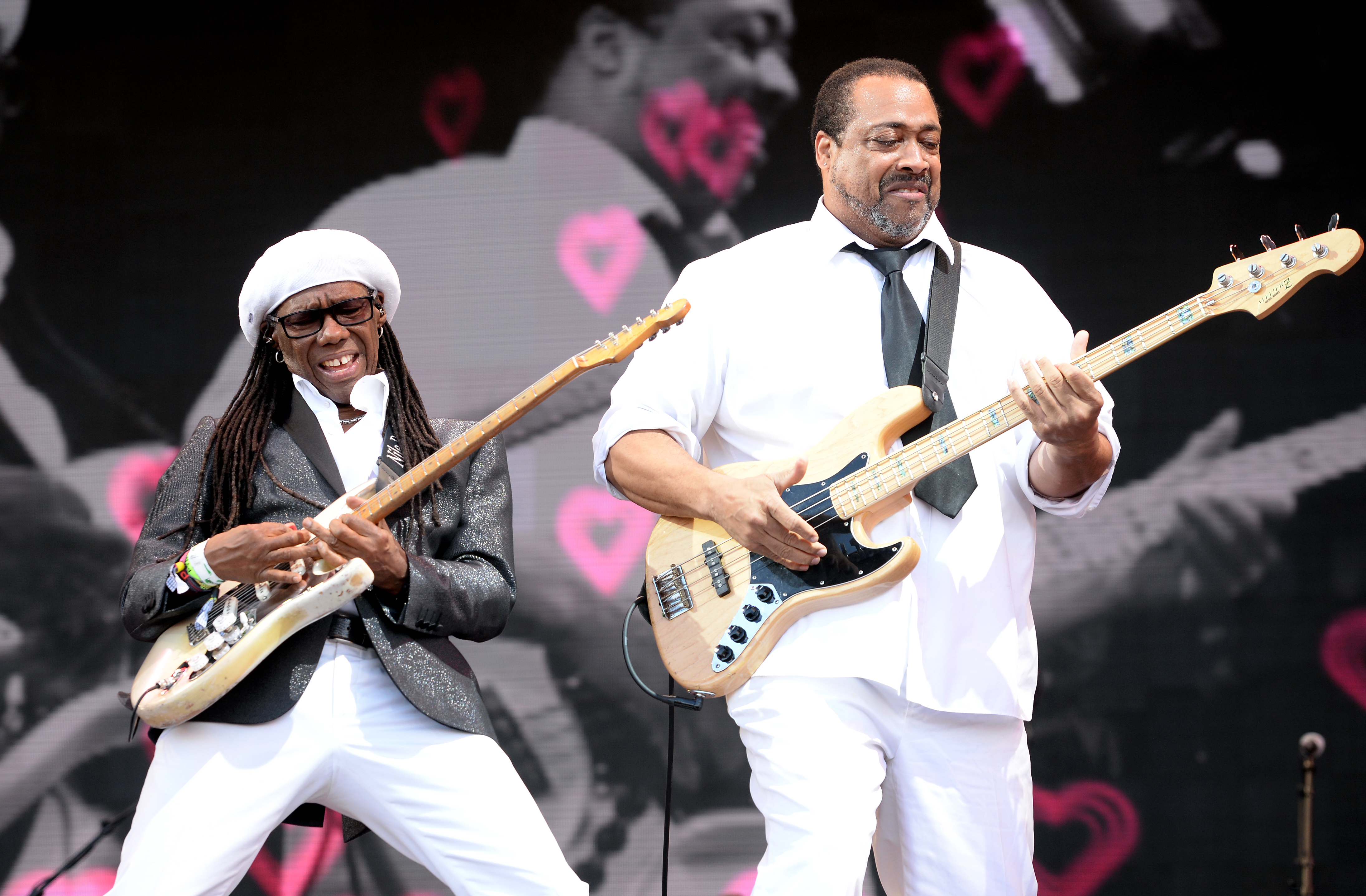 Nile Rodgers and Chic at Glastonbury