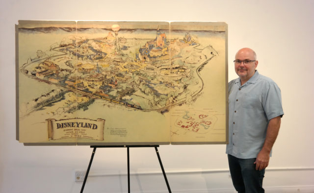 Walt Disney's Disneyland presentation map fetches US$708000 at auction