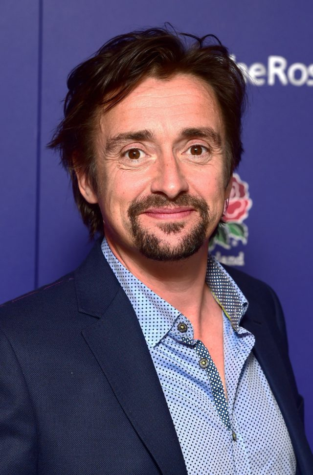 Richard Hammond arriving at the Wear The Rose Live event, the official England send off for the Rugby World Cup at the O2, London.