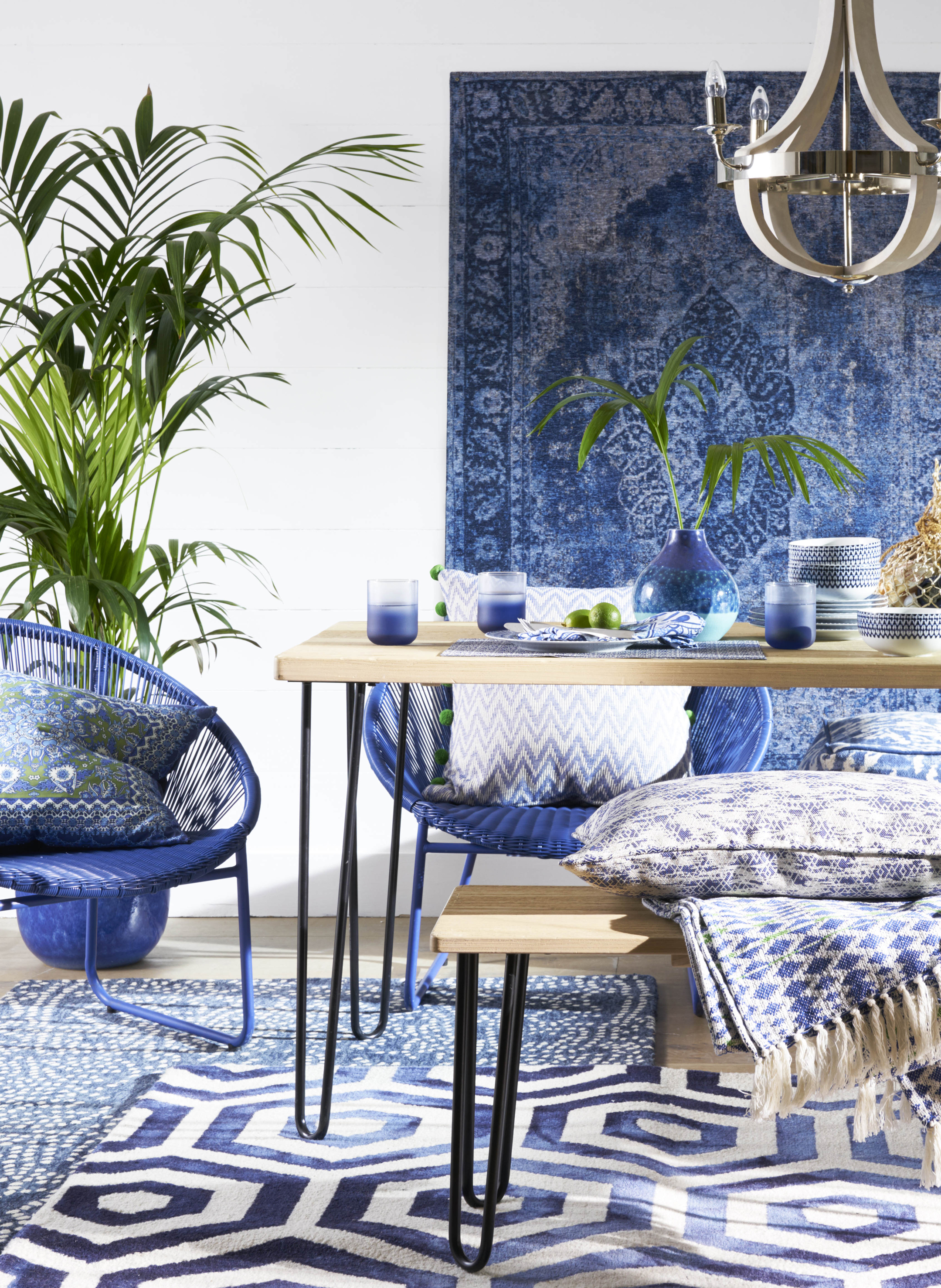 How to work blue into your home decor - BT