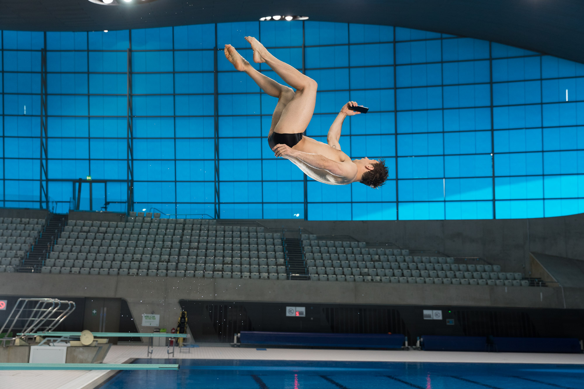 Tom Daley diving selfie