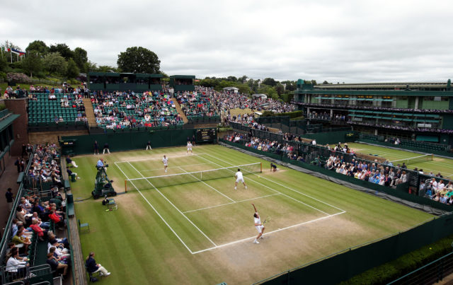 Court 18 at Wimbledon