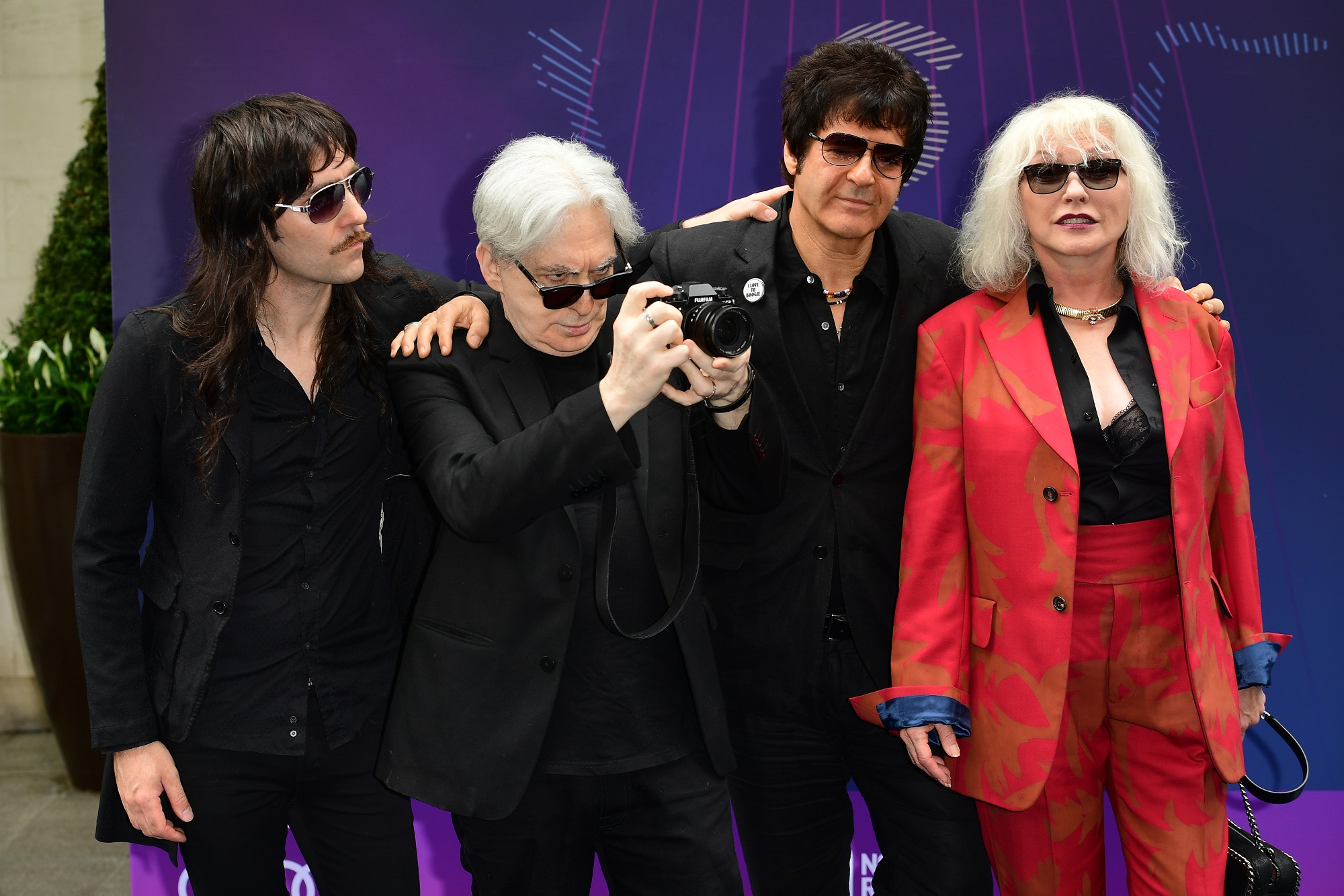 Matt Katz-Bohen, Chris Stein, Clem Burke and Debbie Harry (