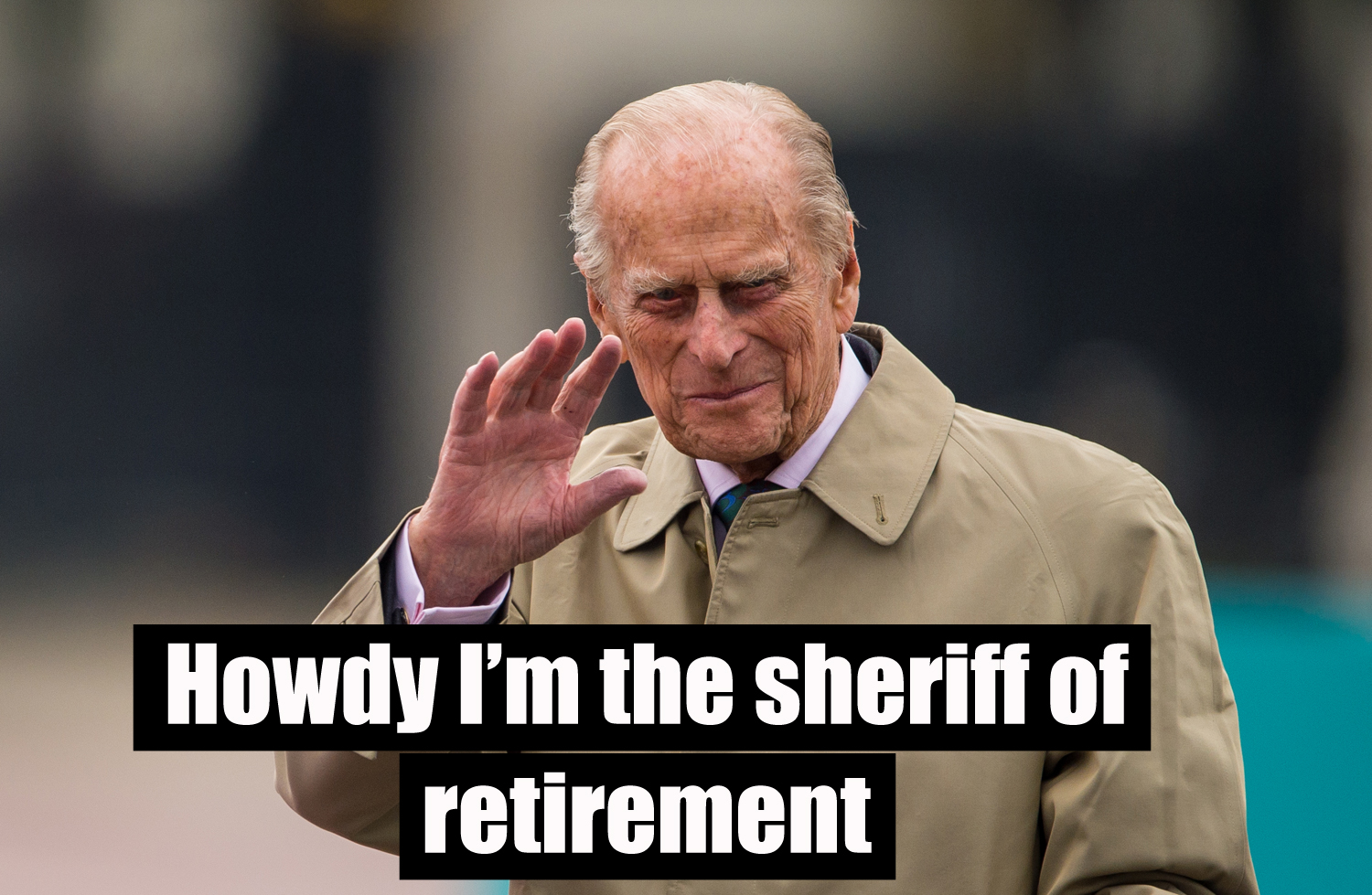 The Duke of Edinburgh (Dominic Lipinski/PA)