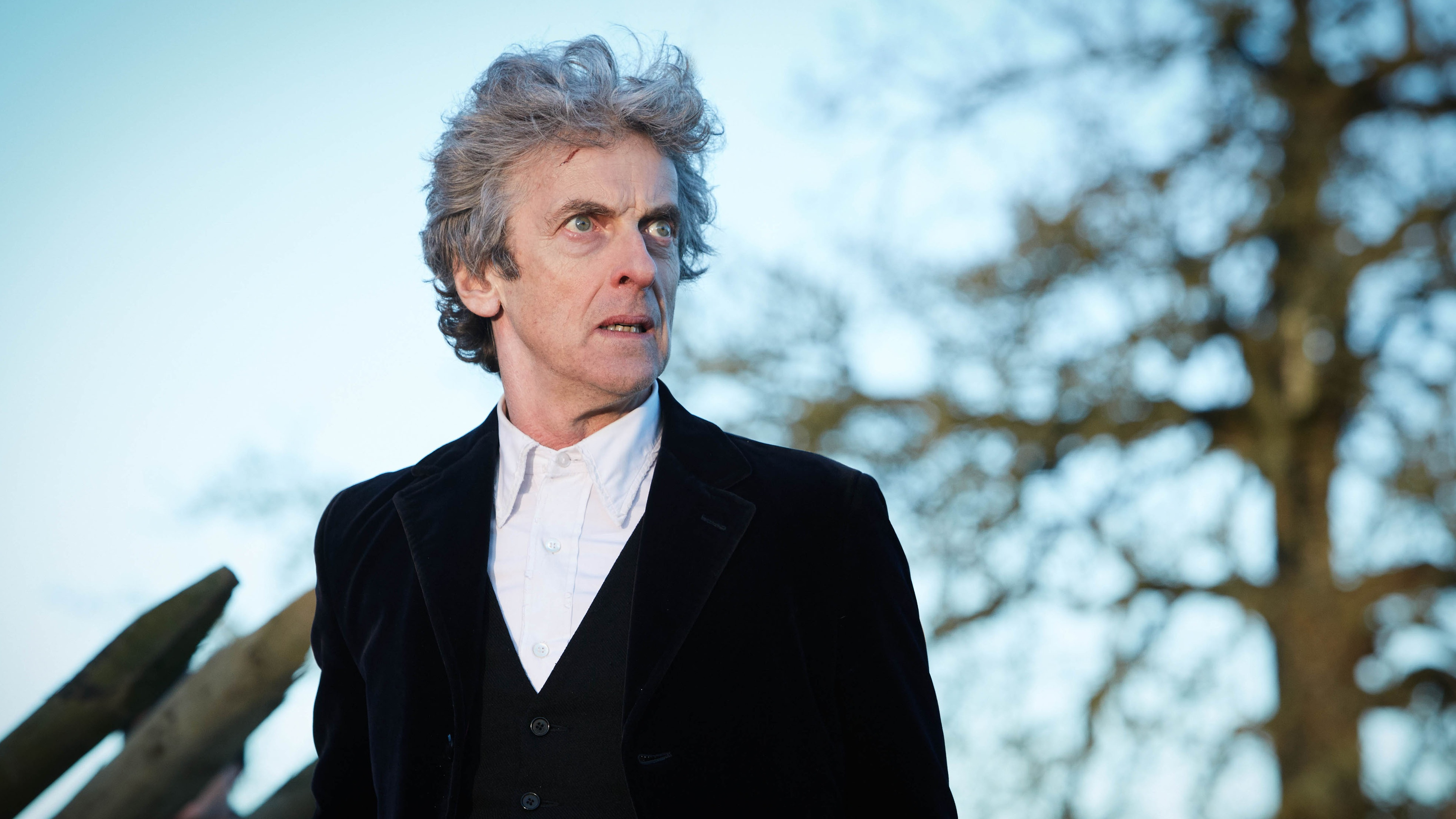 Peter Capaldi as the Doctor (BBC)