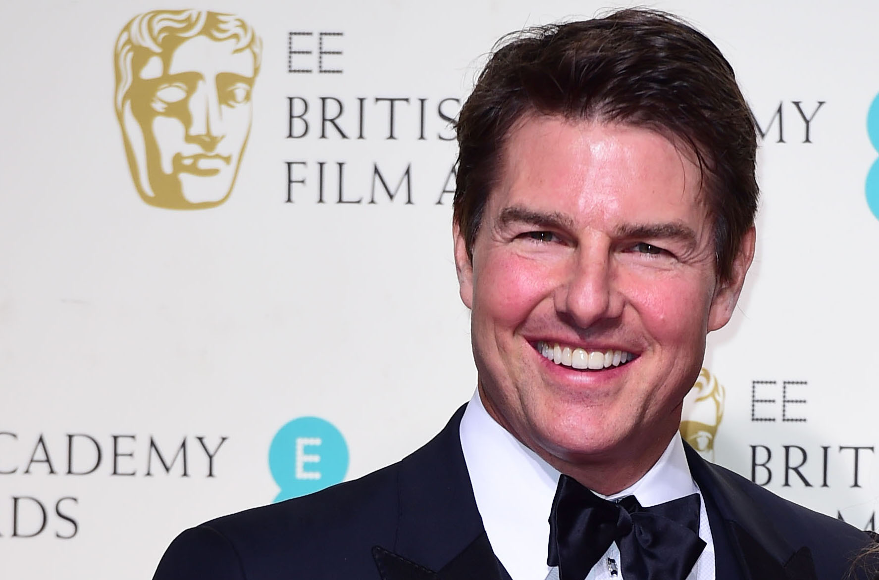Tom Cruise at the Baftas