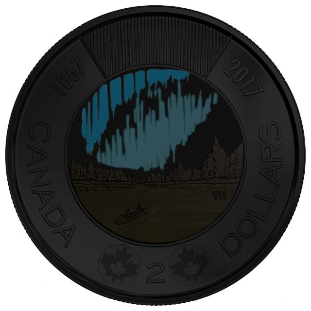 glow in the dark coin