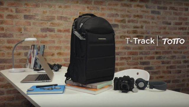 T-Track smart backpack
