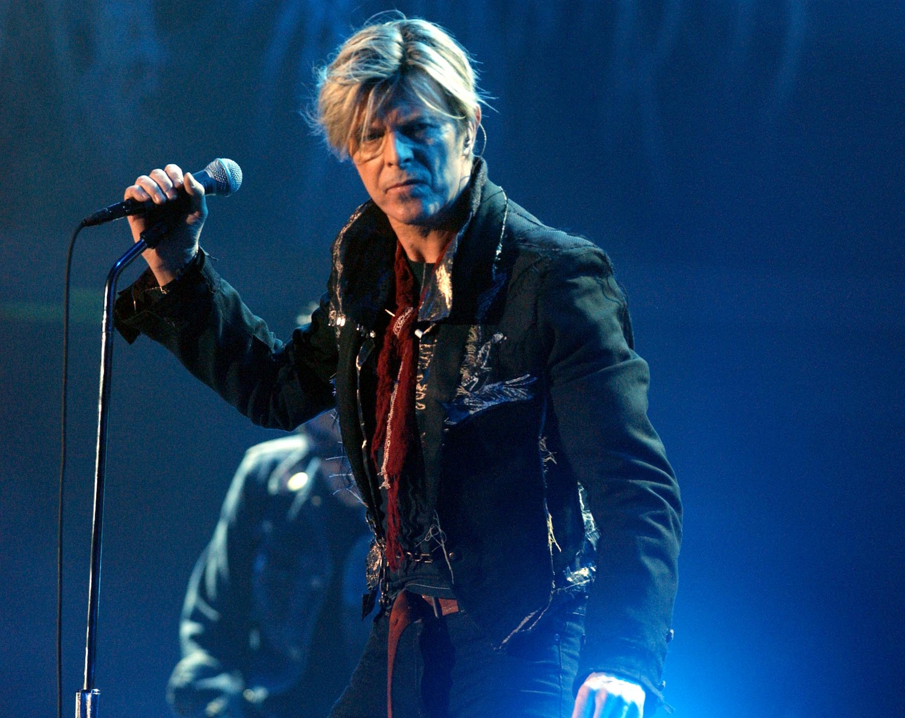 David Bowie on stage in 2003 (Andy Butterton/PA)