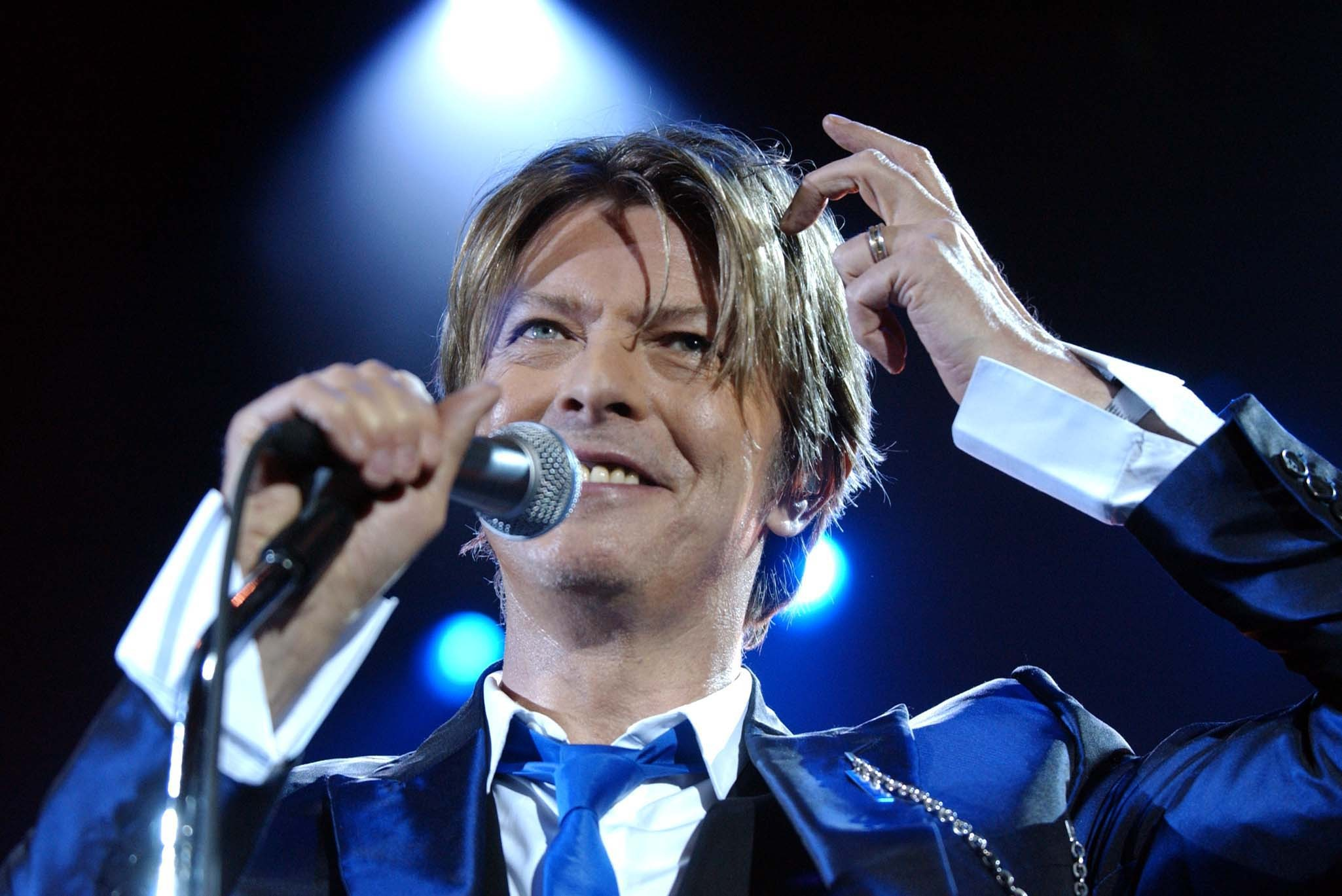David Bowie in 2002 (Myung Jung Kim/PA)