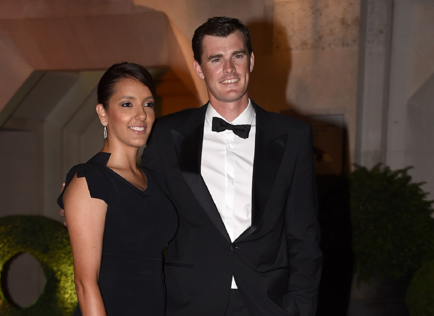 Jamie Murray and Alejandra Gutierrez arriving at the Wimbledon Champions Dinner 2017, at the Guildhall, London.