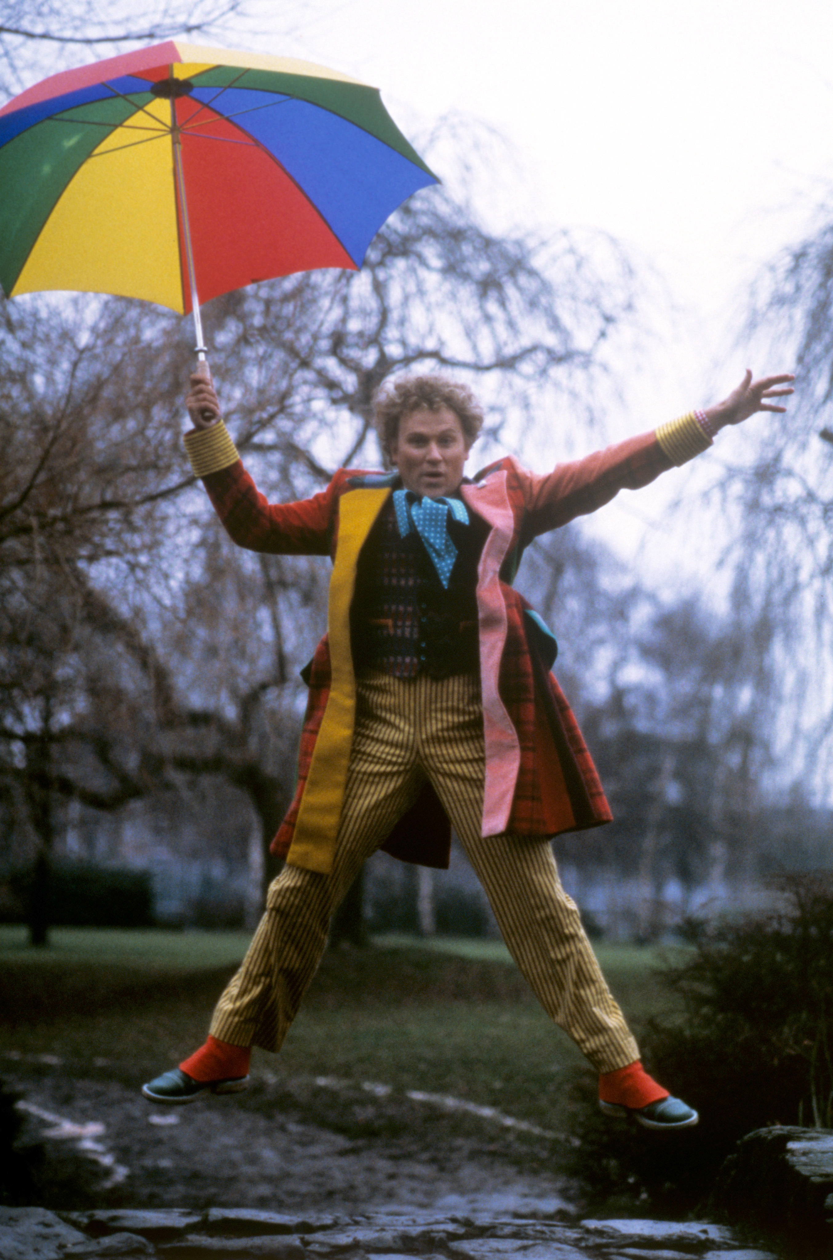 Colin Baker played the Doctor (PA)