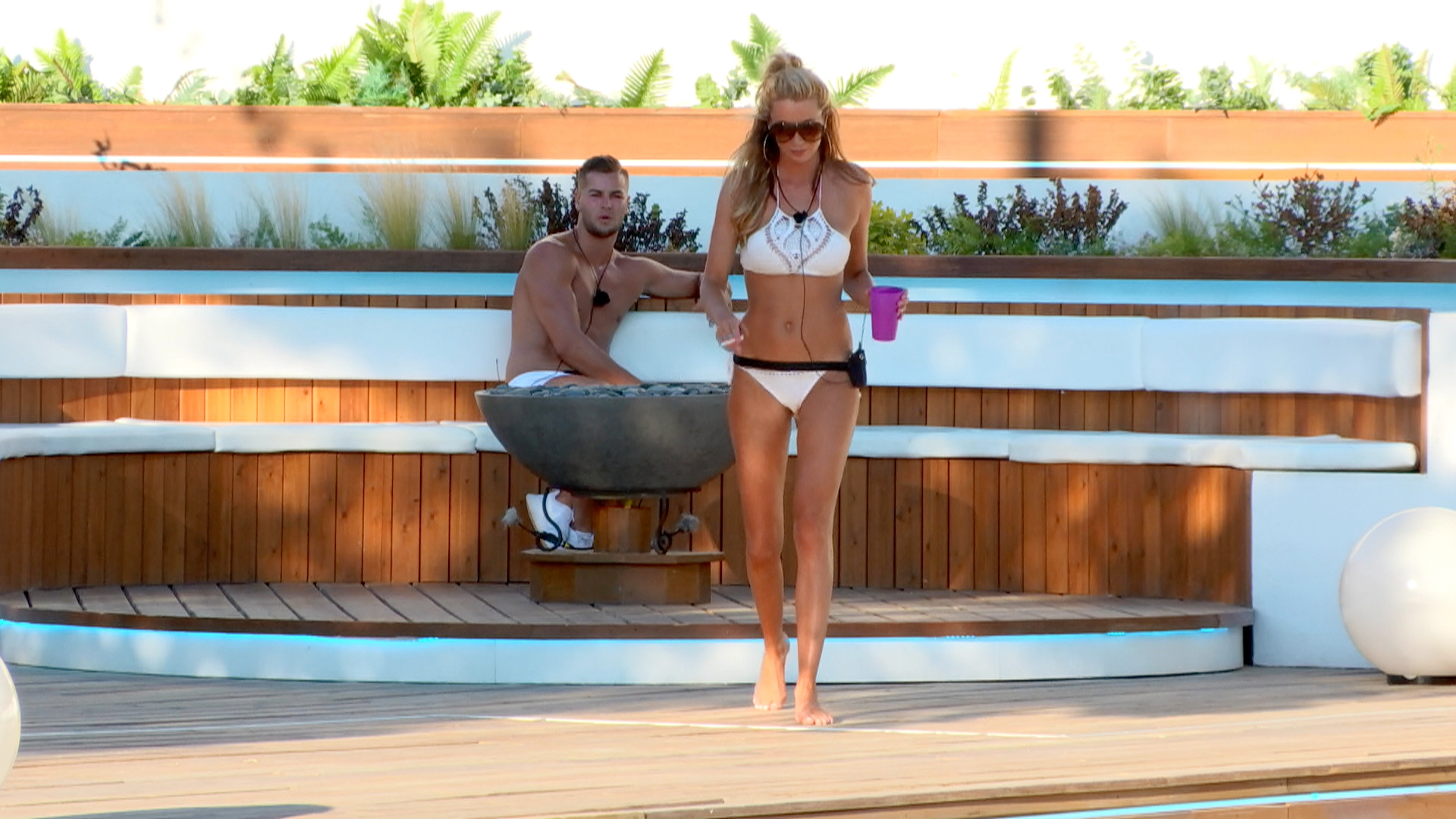 Love Island challenge lands couples in hot water