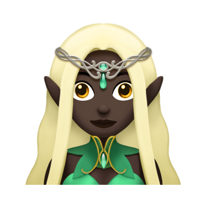 new elf emoji
