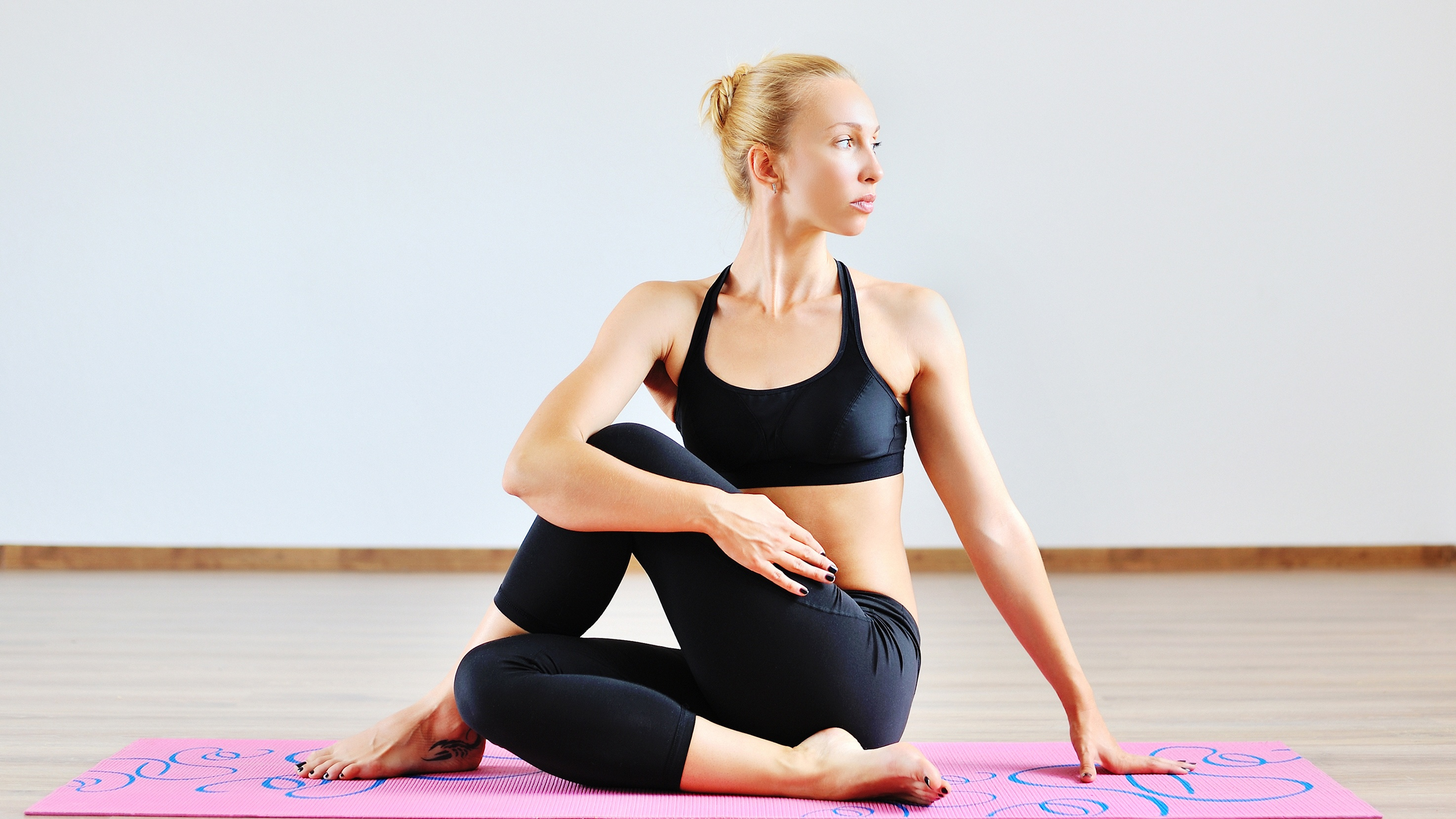 Generic photo of woman doing yoga pose (ThinkStock/PA)