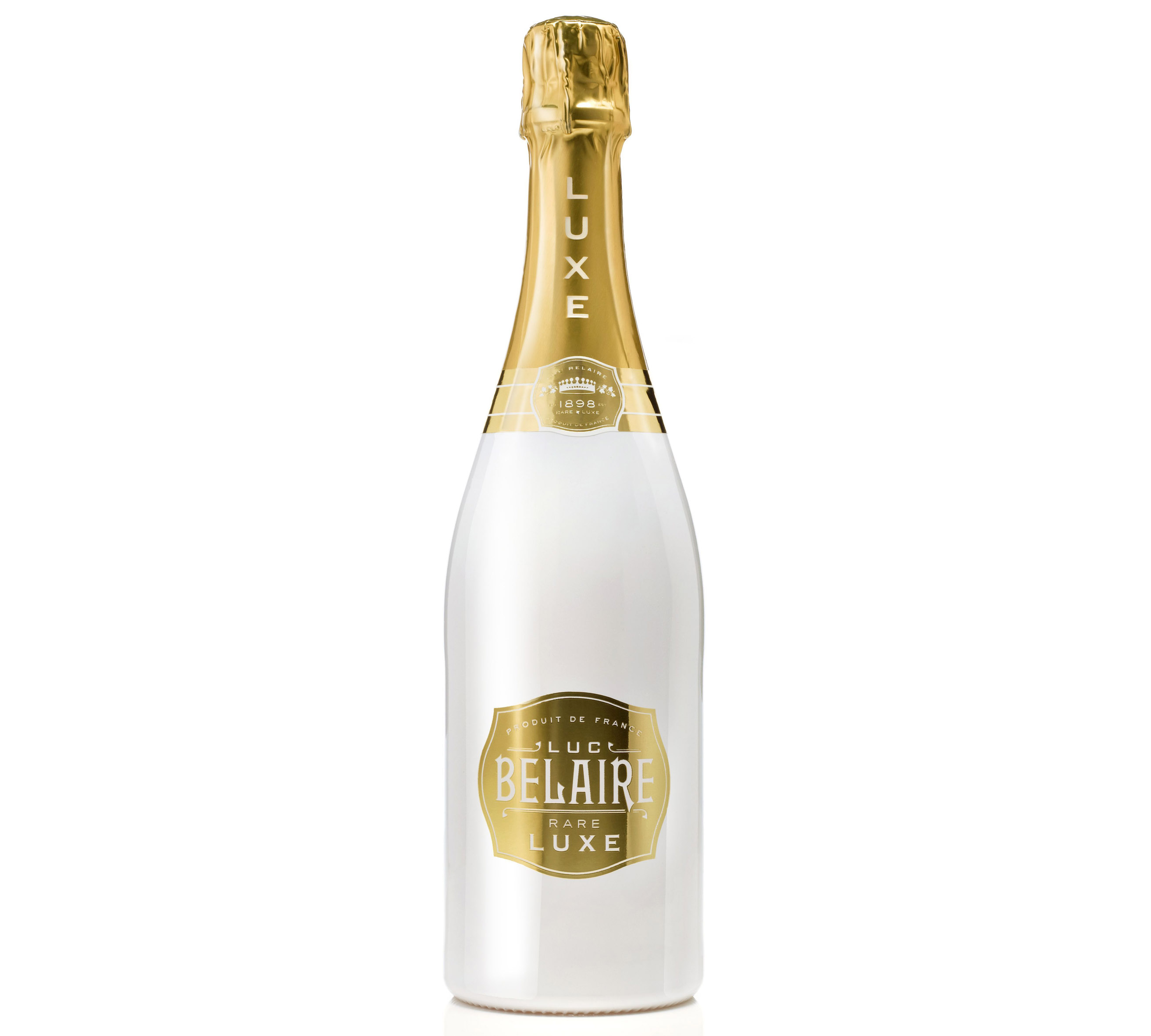 Luc Belaire Luxe, Blancs de Blancs Sparkling Wine, France, available from 31dover.com.