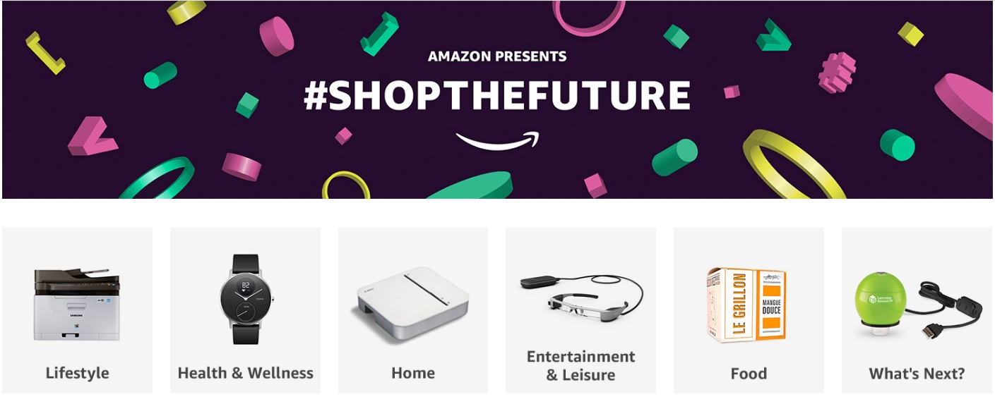 Amazon Shop the Future