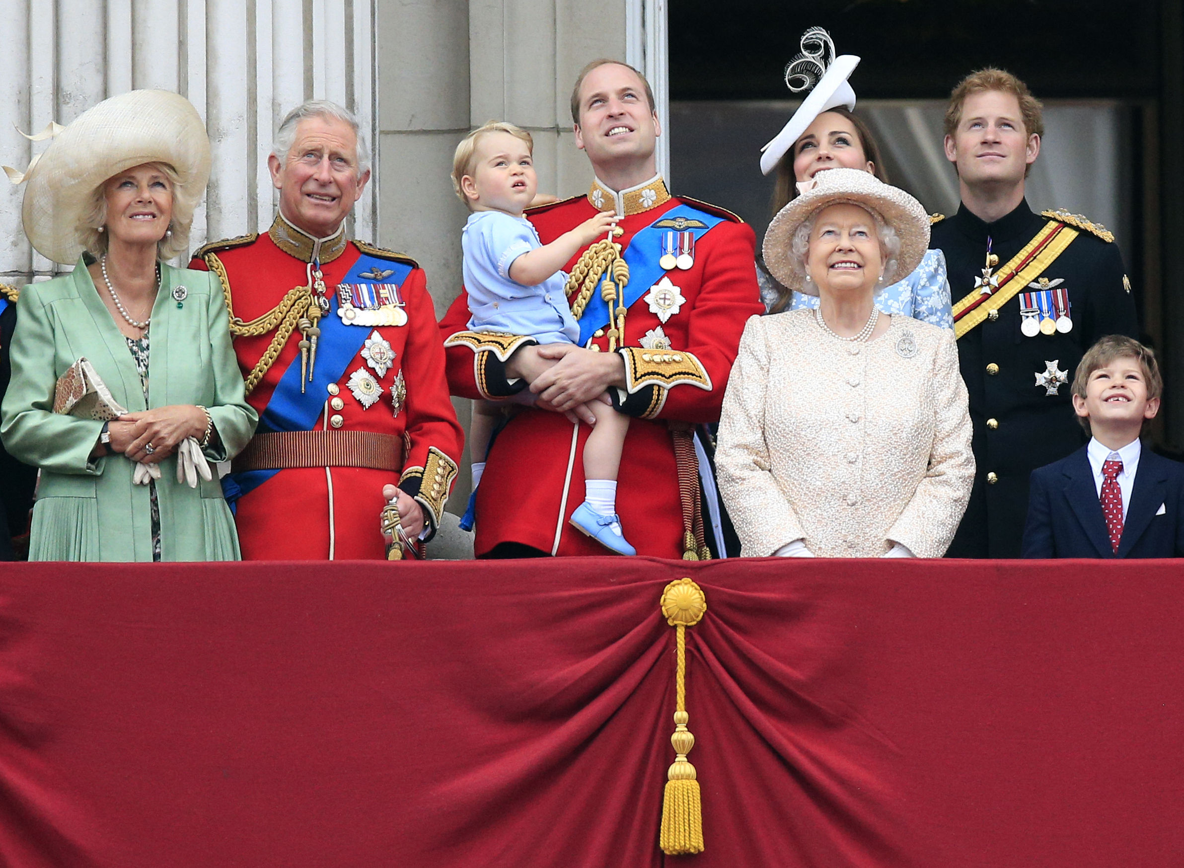 George at Trooping the Colour
