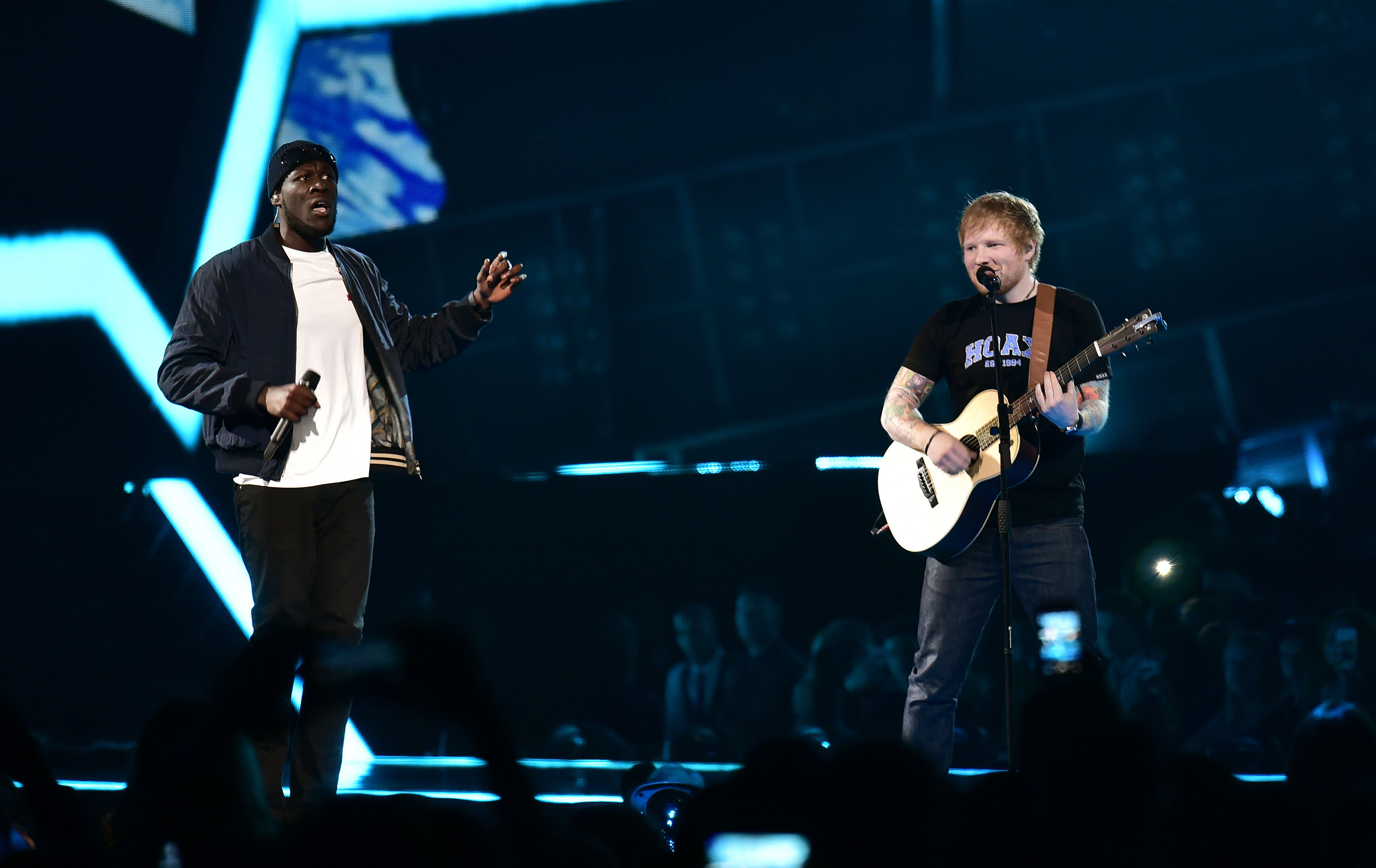 Ed Sheeran, Stormzy nominated for Mercury music award
