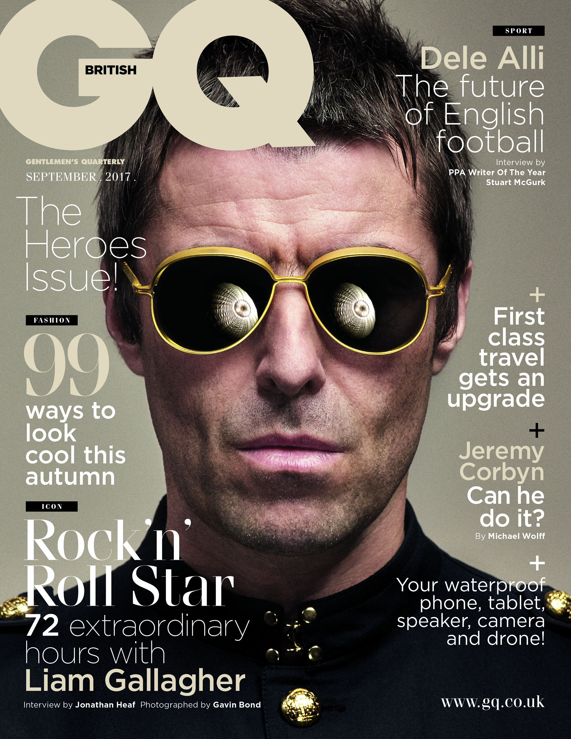Read the full interview in September's GQ.