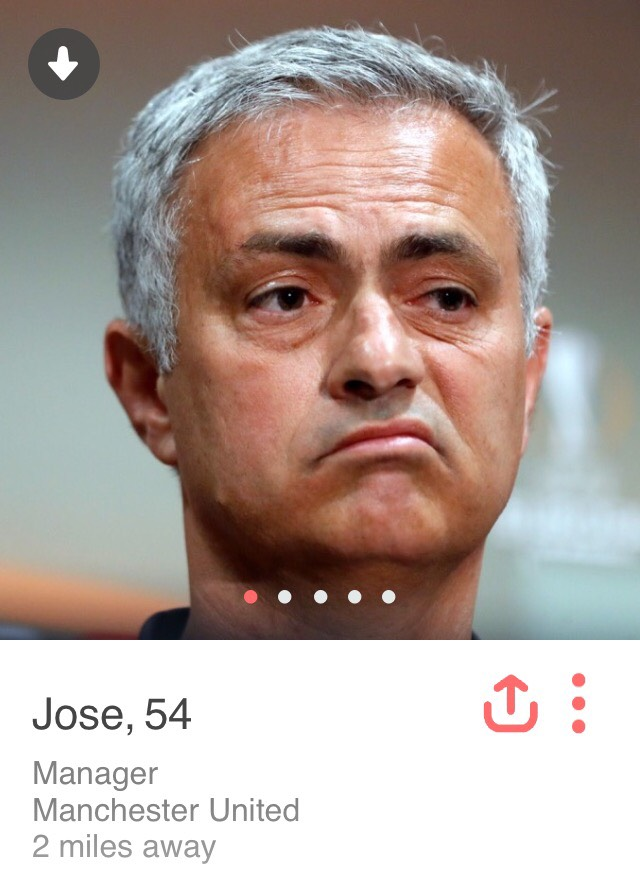 Five potential Tinder profiles for these famous Manchester United
