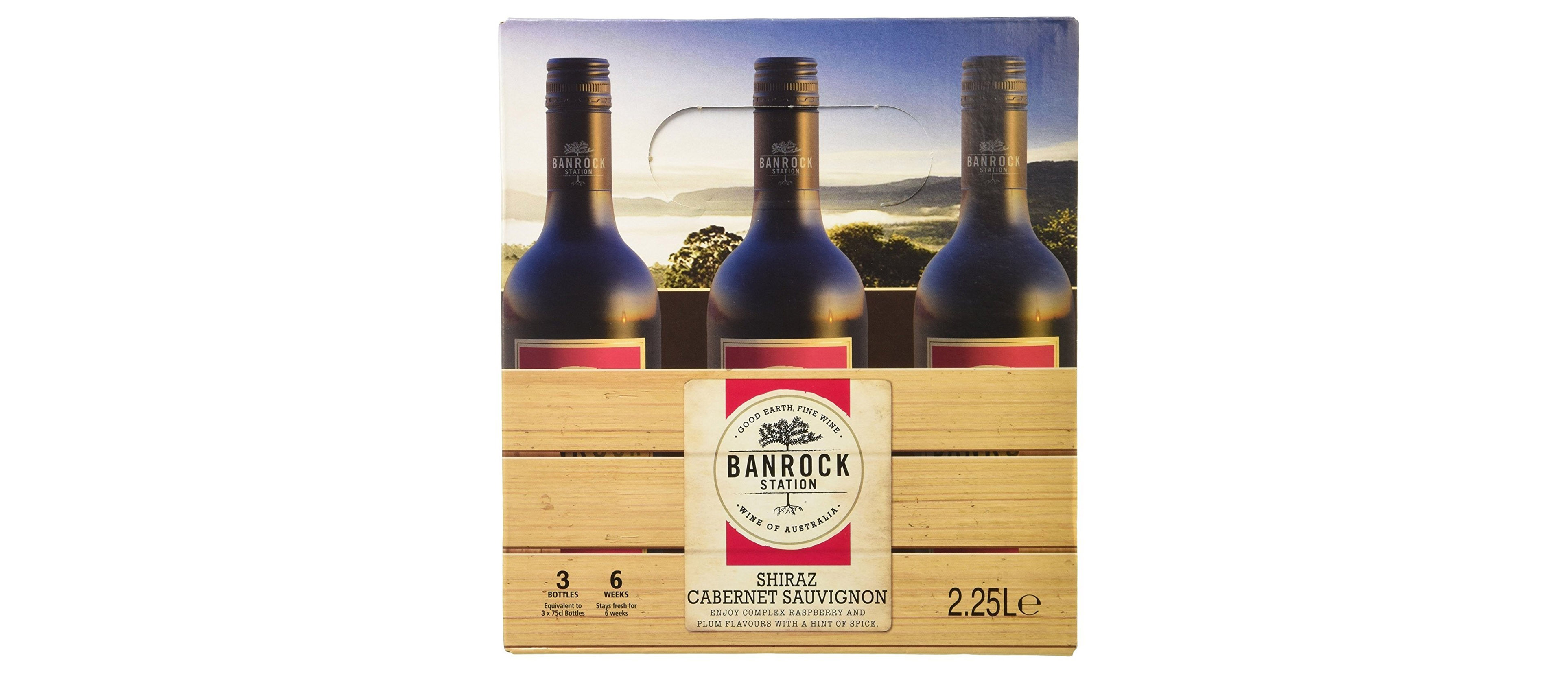 Banrock Station Shiraz Cabernet, Australia (Amazon/PA)