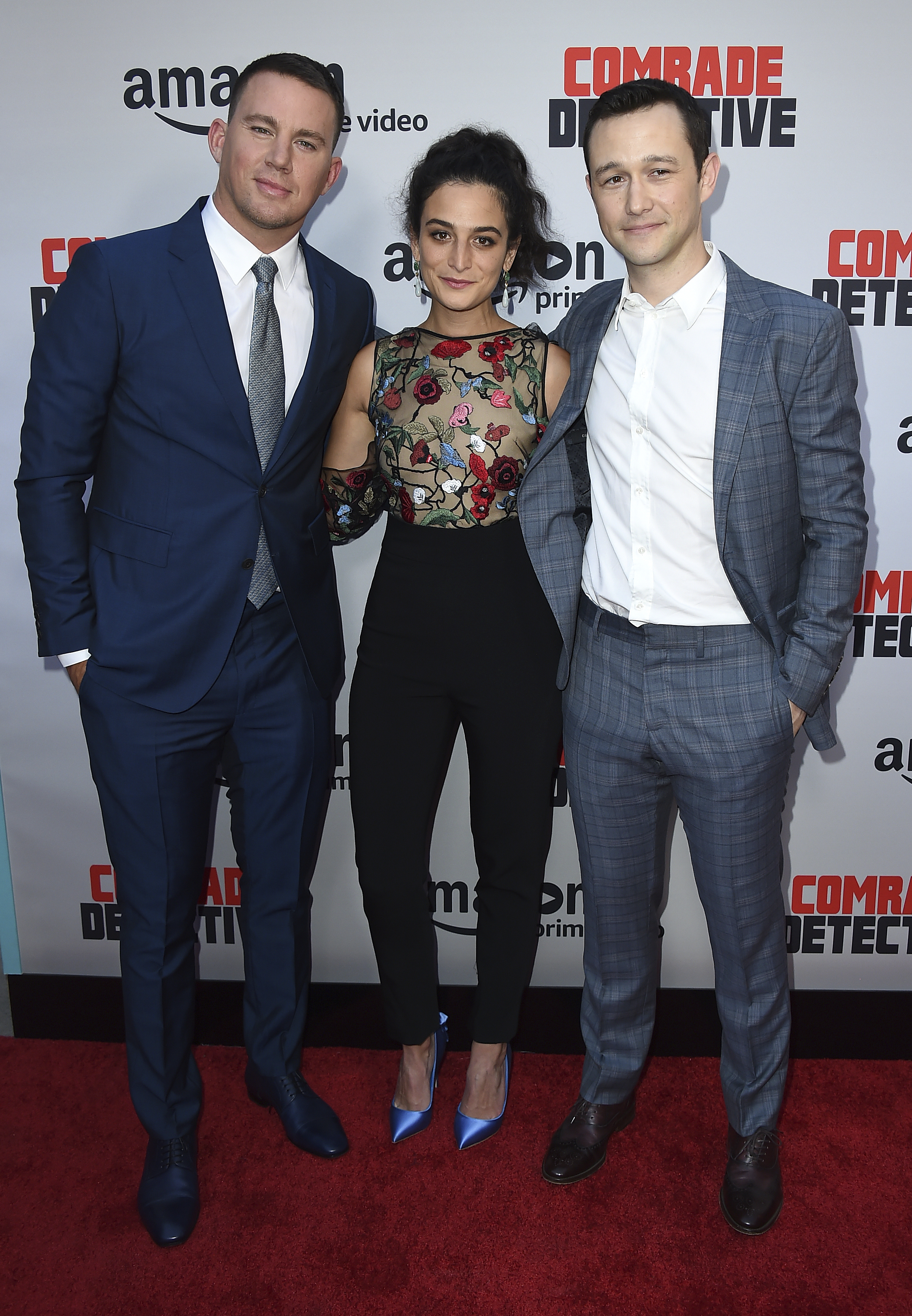 Channing Tatum, Jenny Slate and Joseph Gordon-Levitt