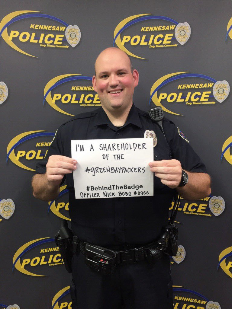 Officer Nick Bobo from Kennesaw Police shares his story for Behind The Badge (Kennesaw Police)