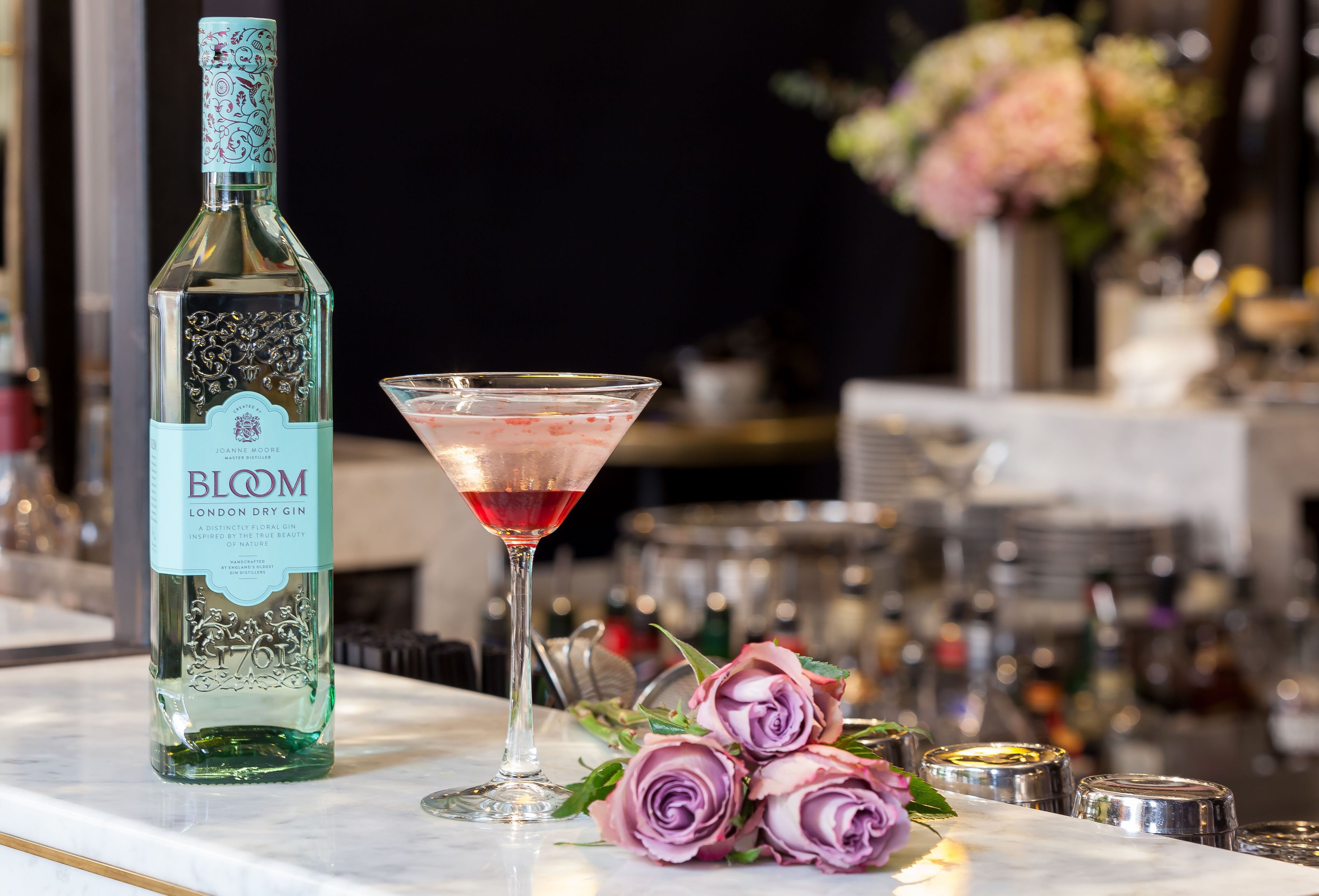Rose Bloom cocktail (Pennethorne's/PA)