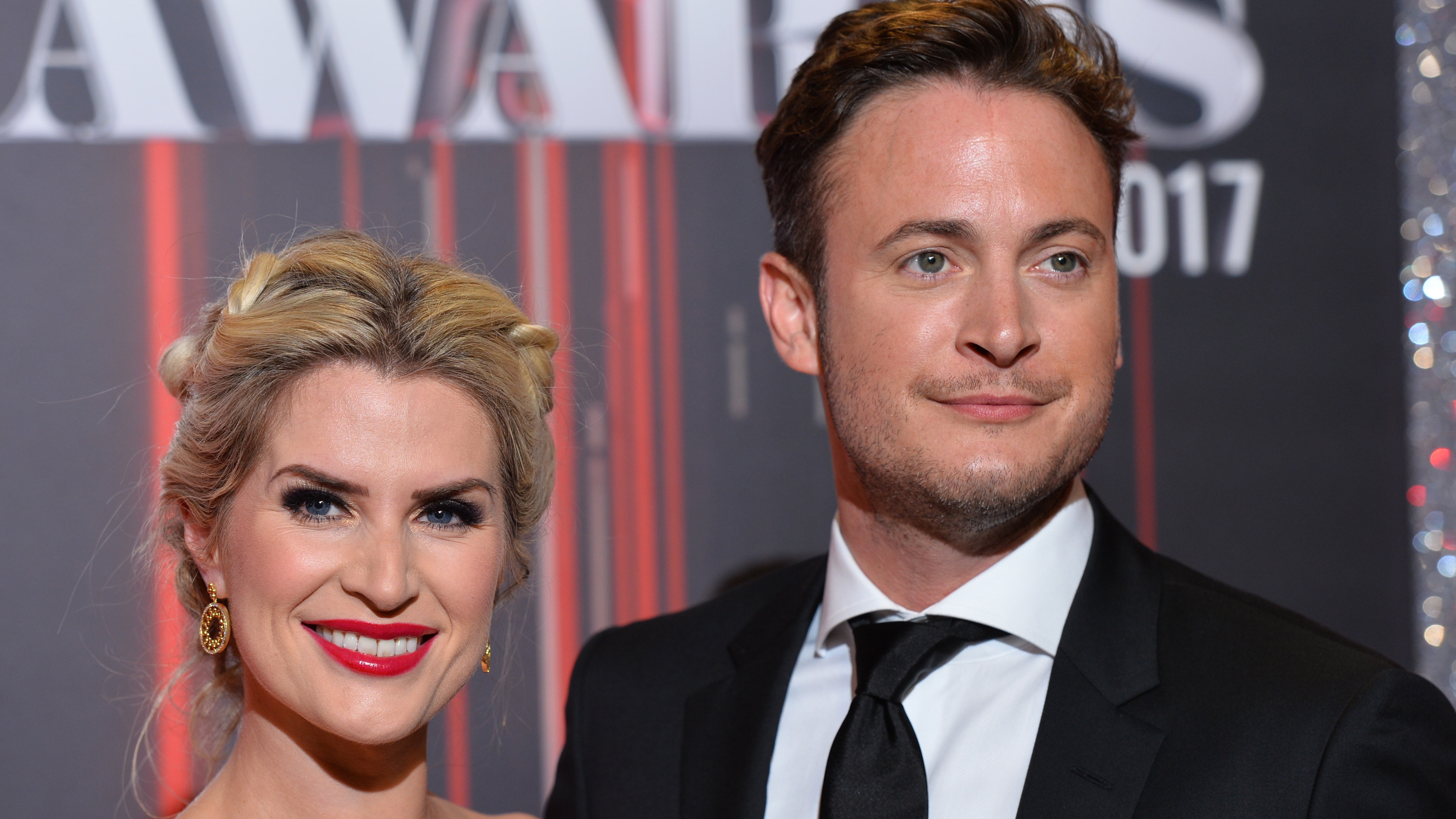 Sarah Jayne Dunne and Gary Lucy