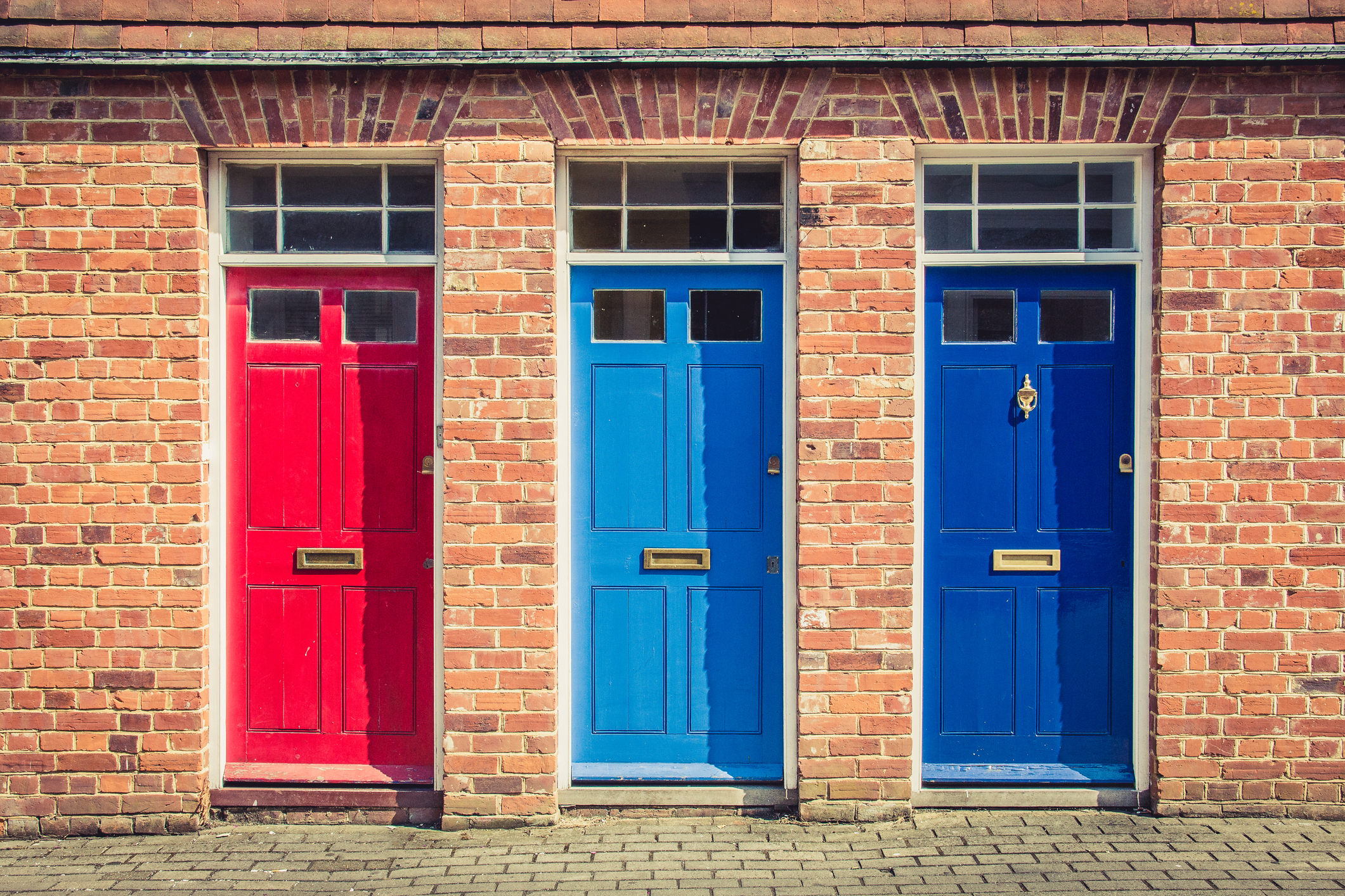 Well-painted front doors enhance a home's value (Thinkstock/PA)