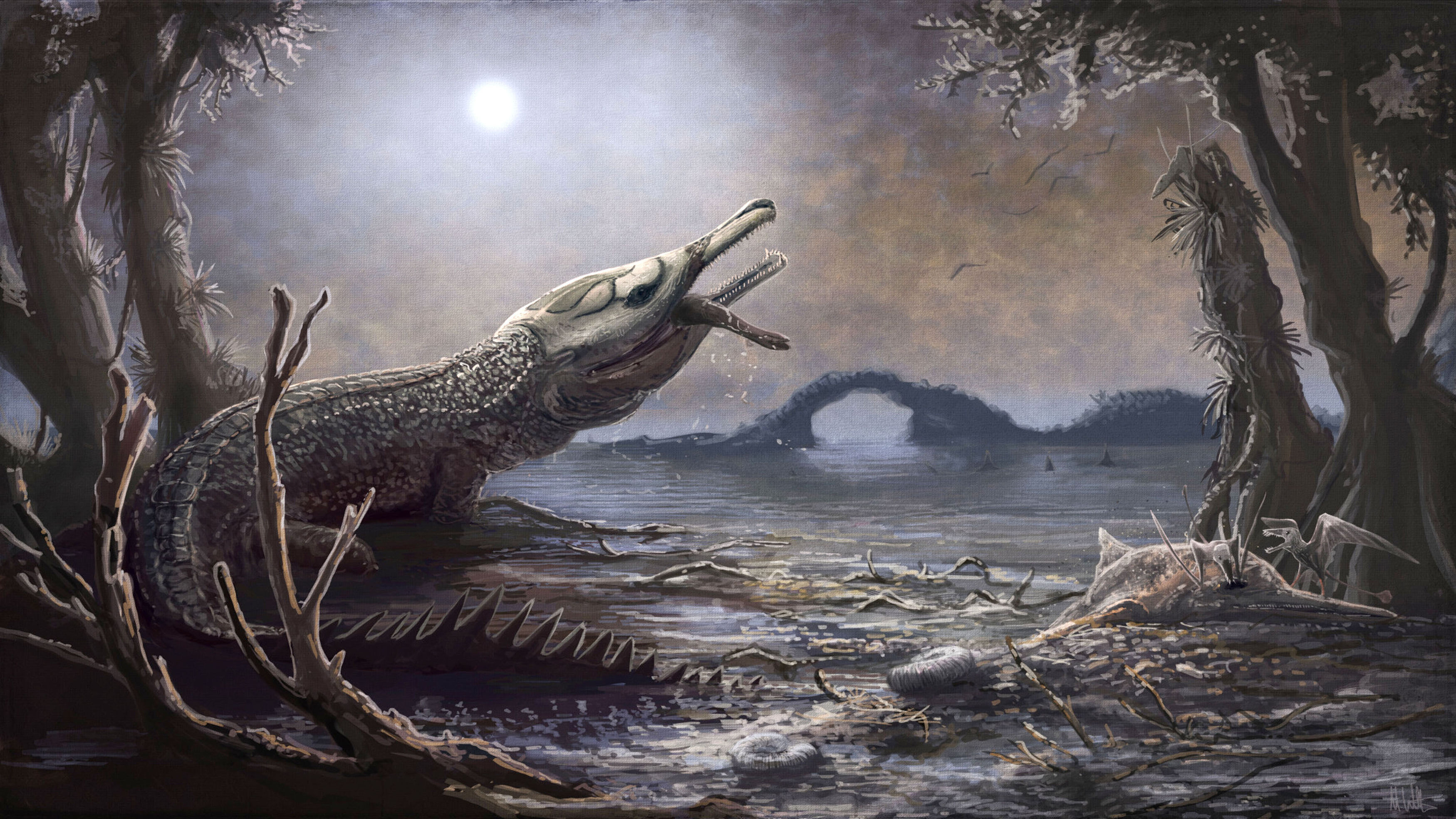 Jurassic crocodile named after Motorhead frontman