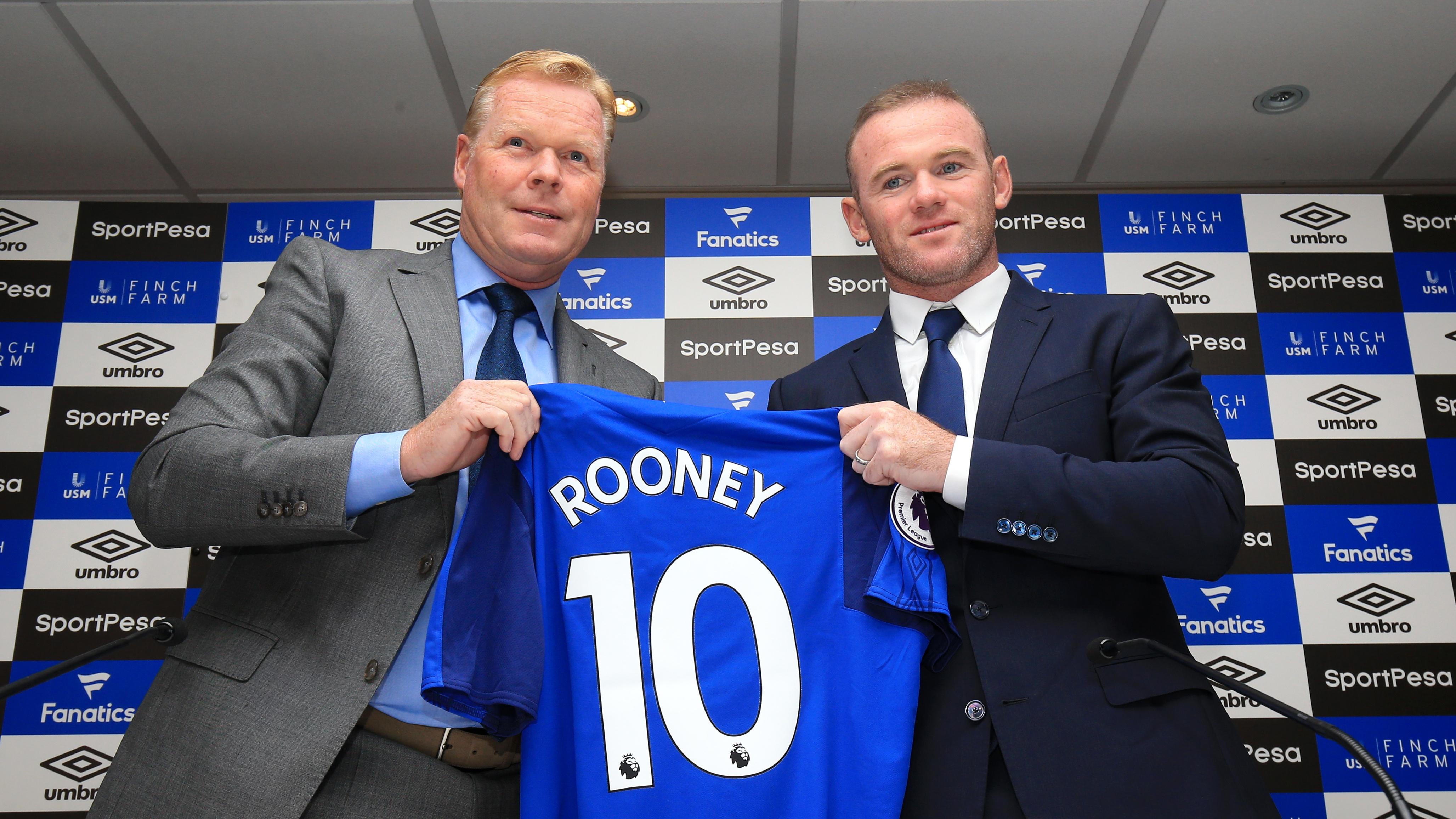 Wayne Rooney rejoins Everton