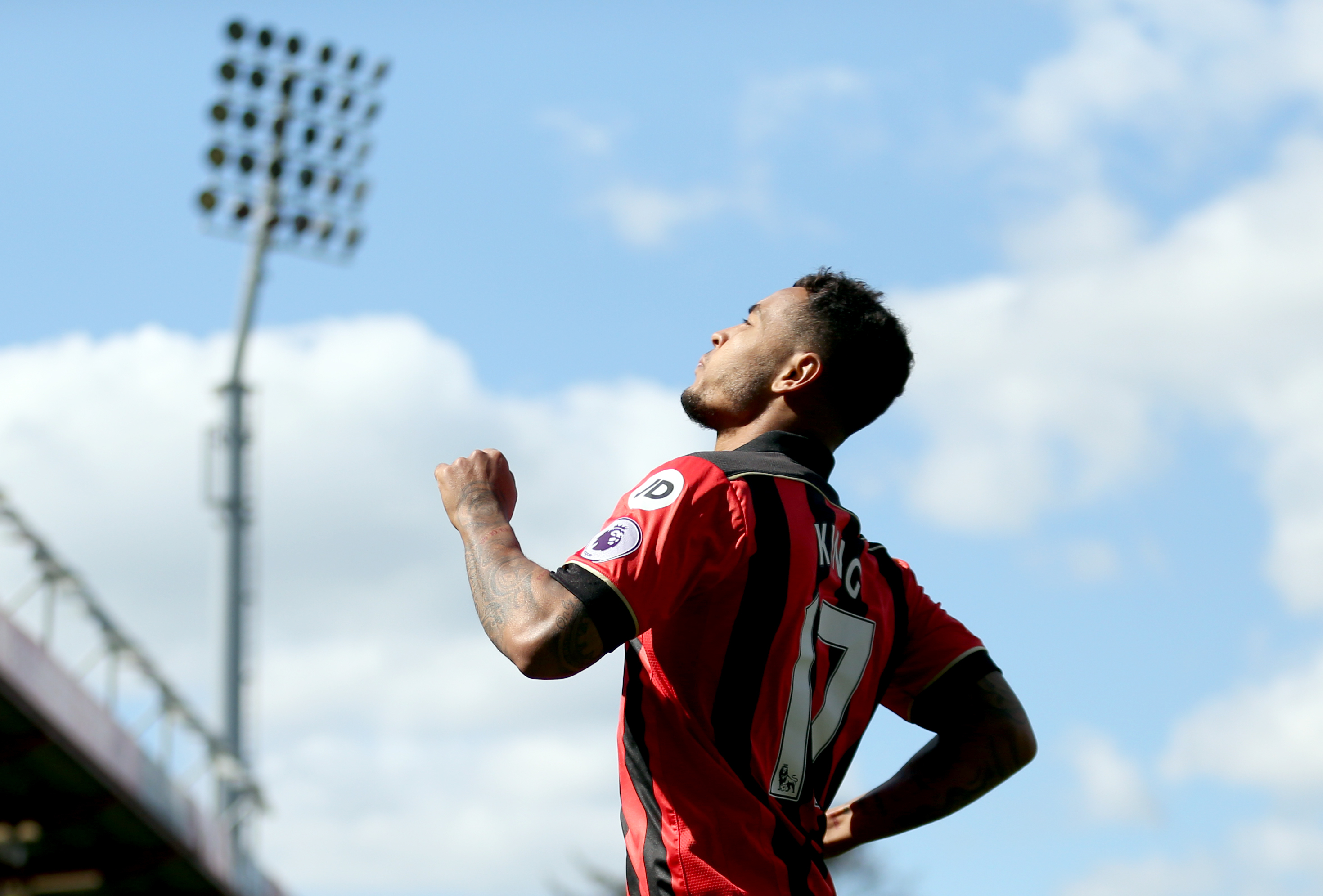 Bournemouth striker Joshua King