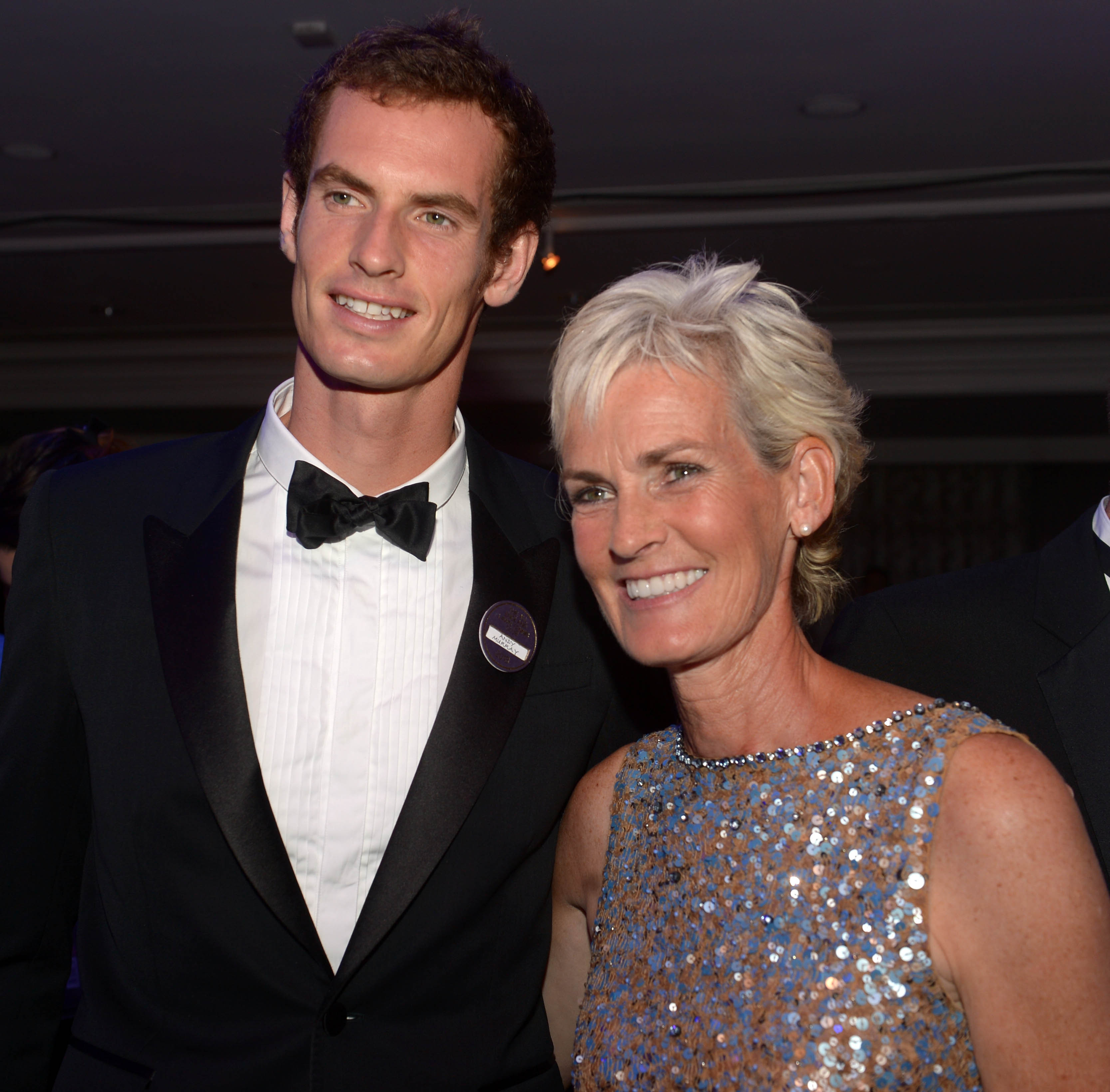 Sir Andy Murray with his mother Judy Murray