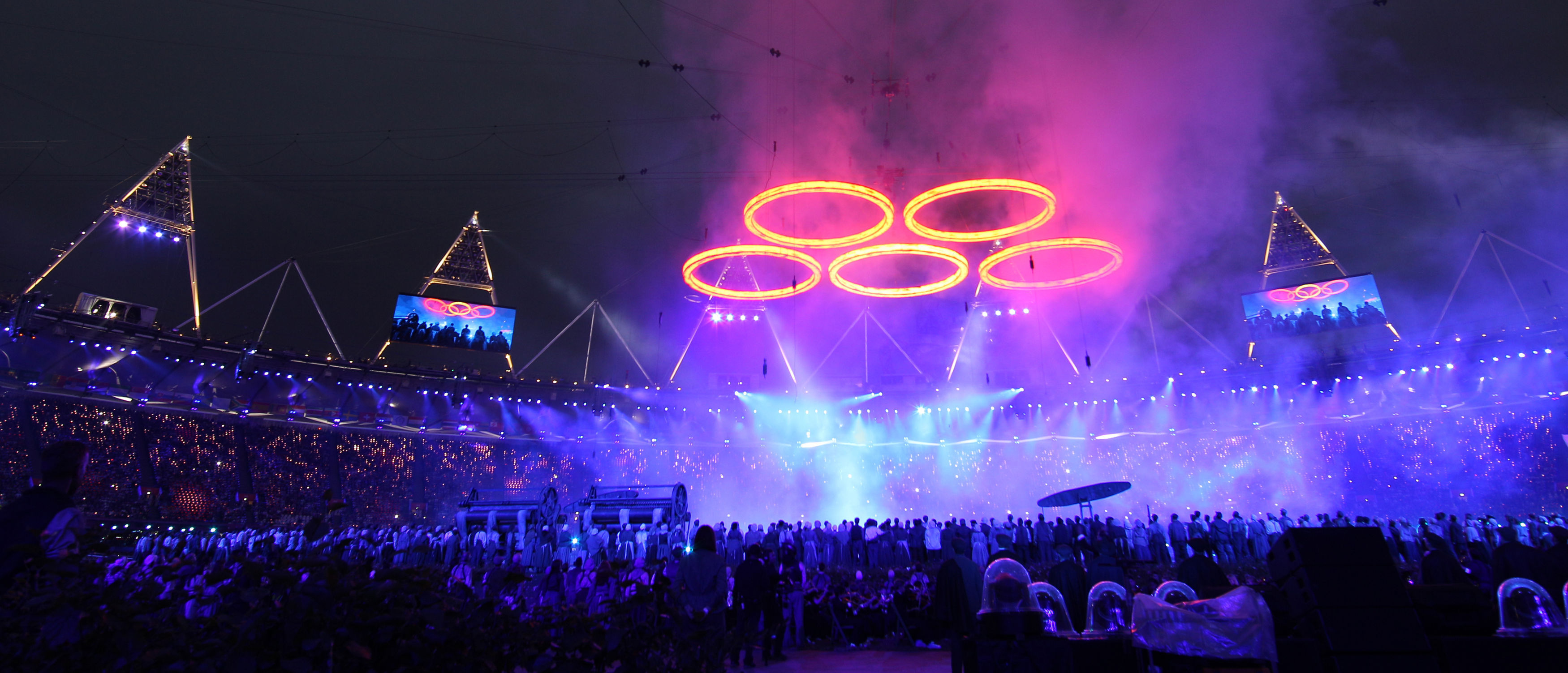 The London Olympic Games 2012 opening ceremony