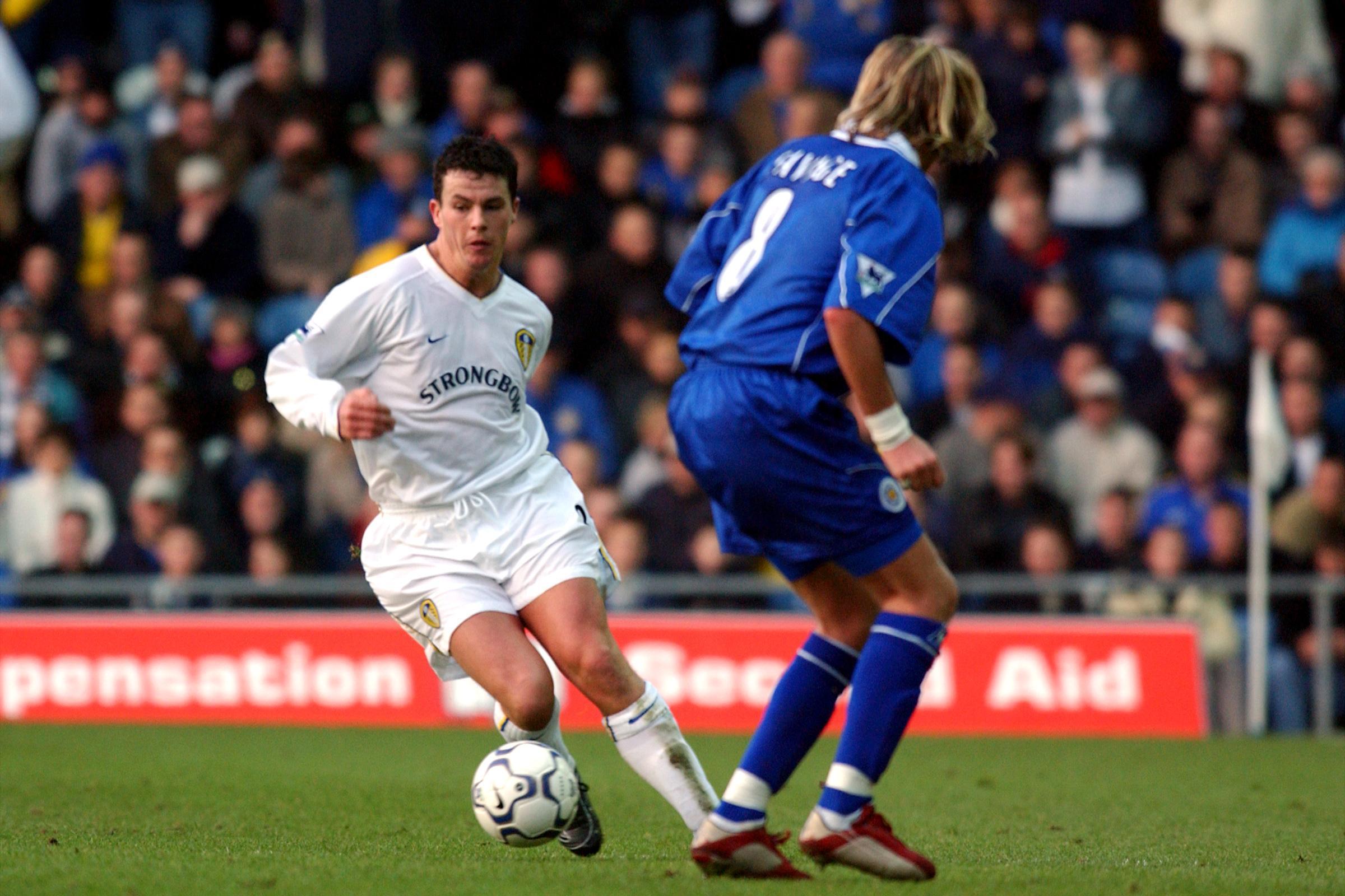 Leeds United's Ian Harte