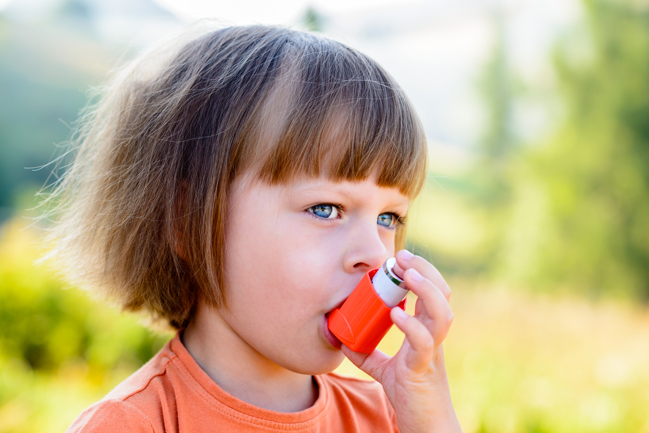 Generic photo of child using an asthma inhaler (Thinkstock/PA)
