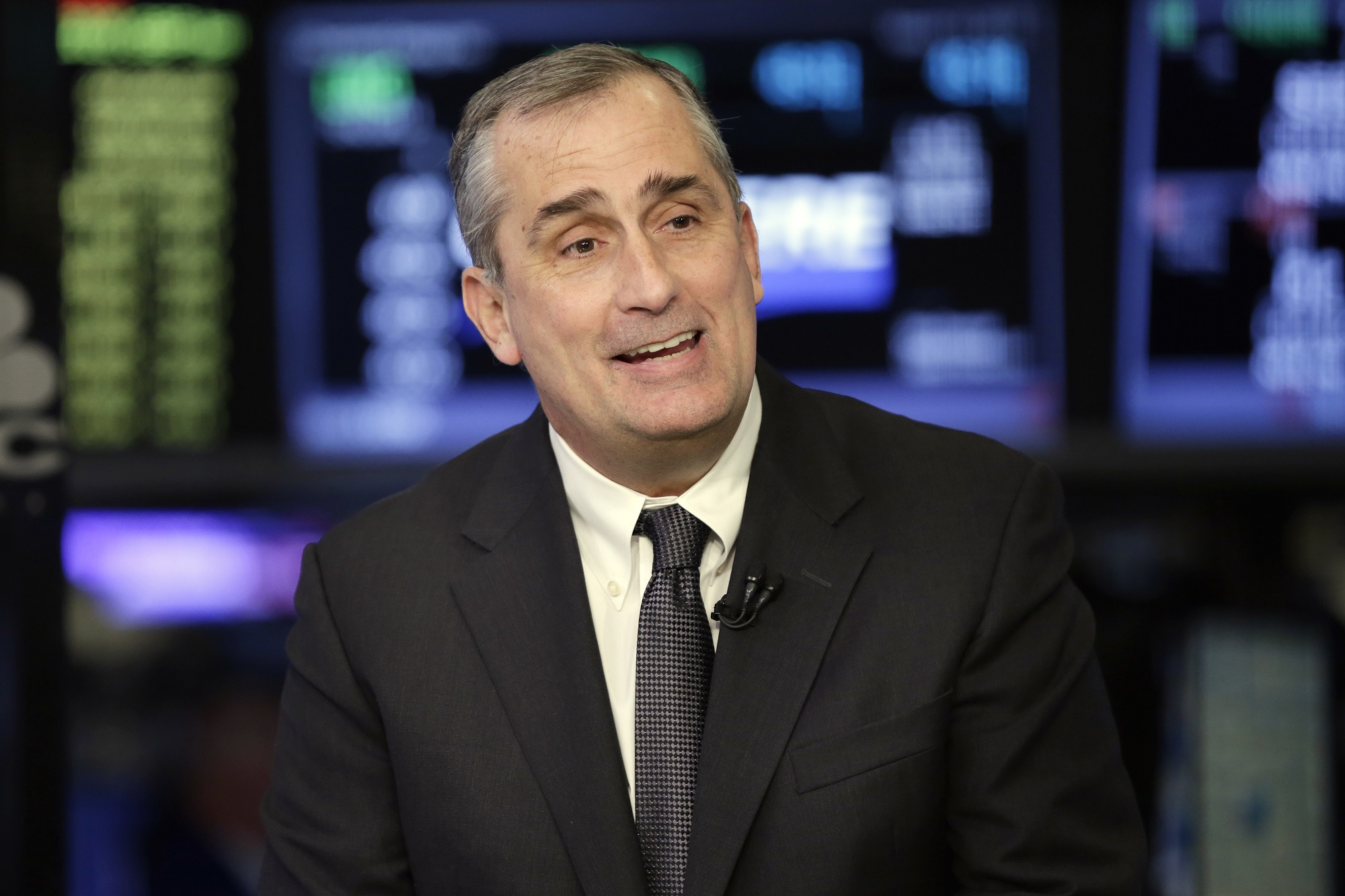 Intel CEO Brian Krzanich (Richard Drew/AP)