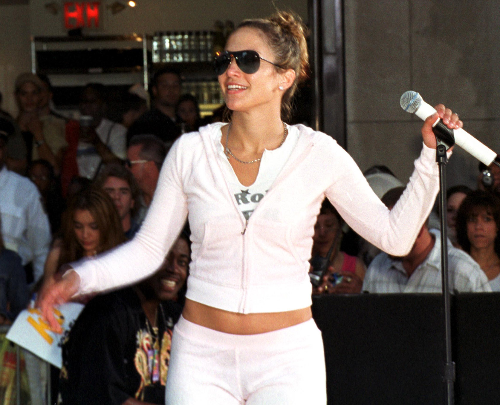 J Lo in tracksuit
