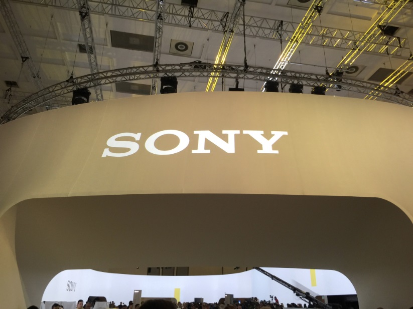 Sony sign at IFA
