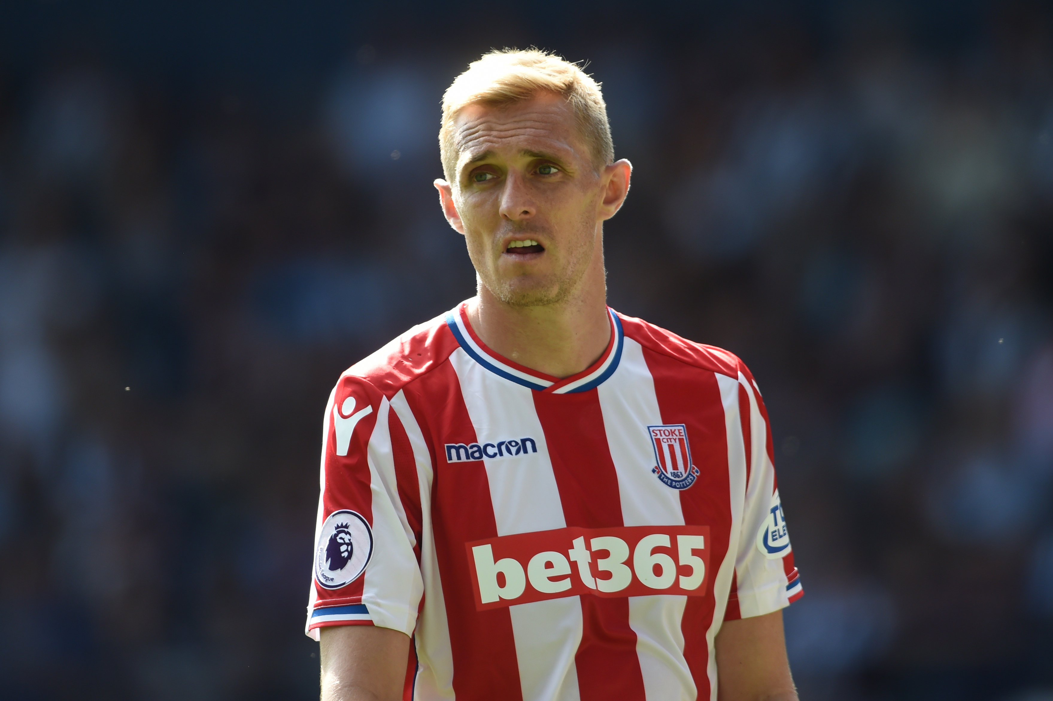 Stoke City's Darren Fletcher