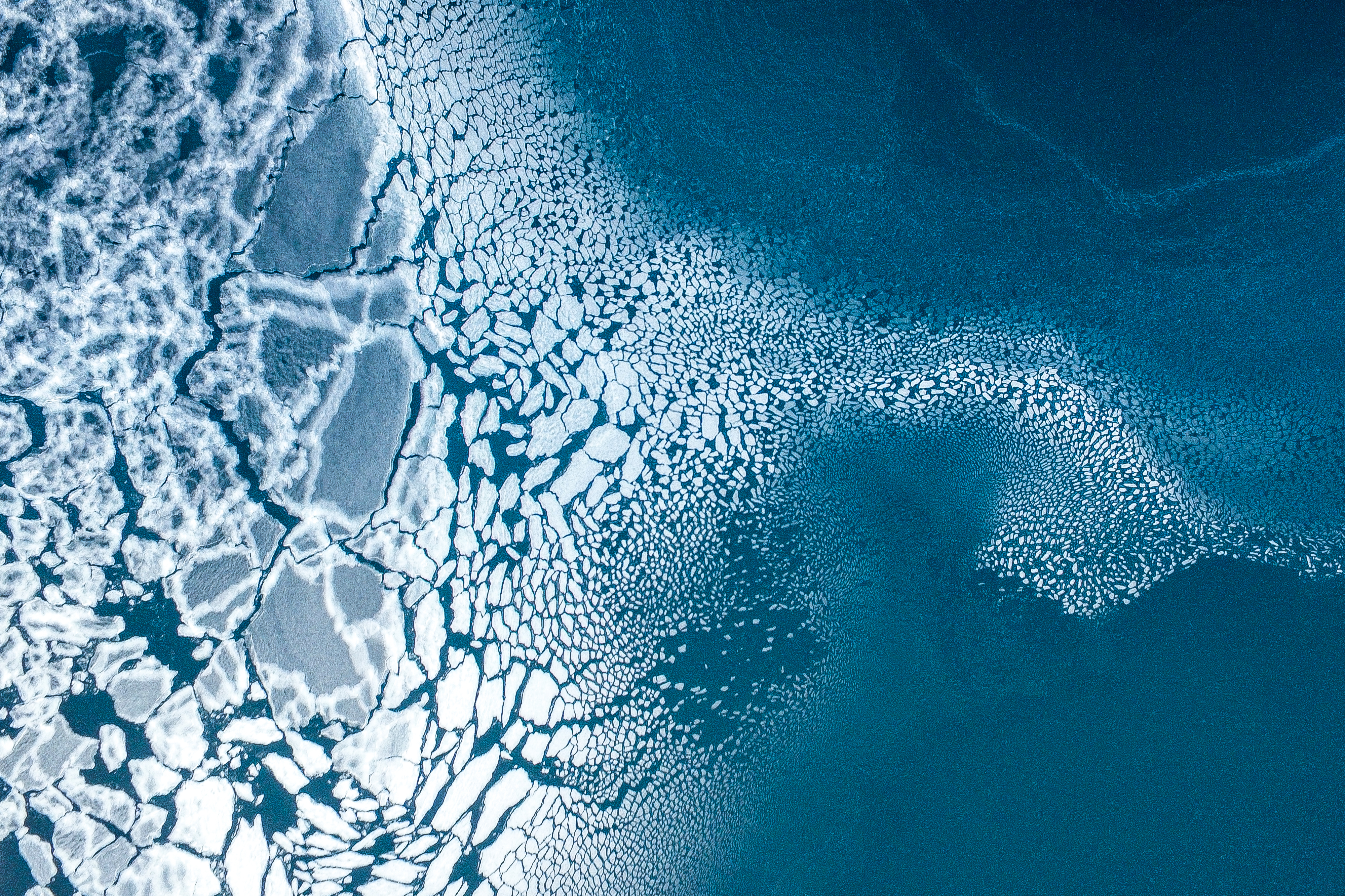 Ice Formation in Greenland by Florian (Florian/Dronestagram)