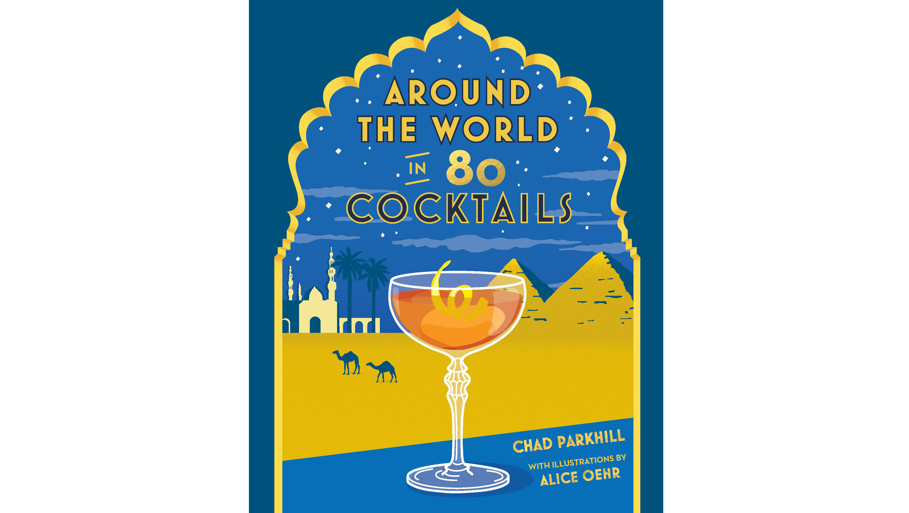 Book cover, Around the World in 80 Cocktails (Hardie Grant/PA)